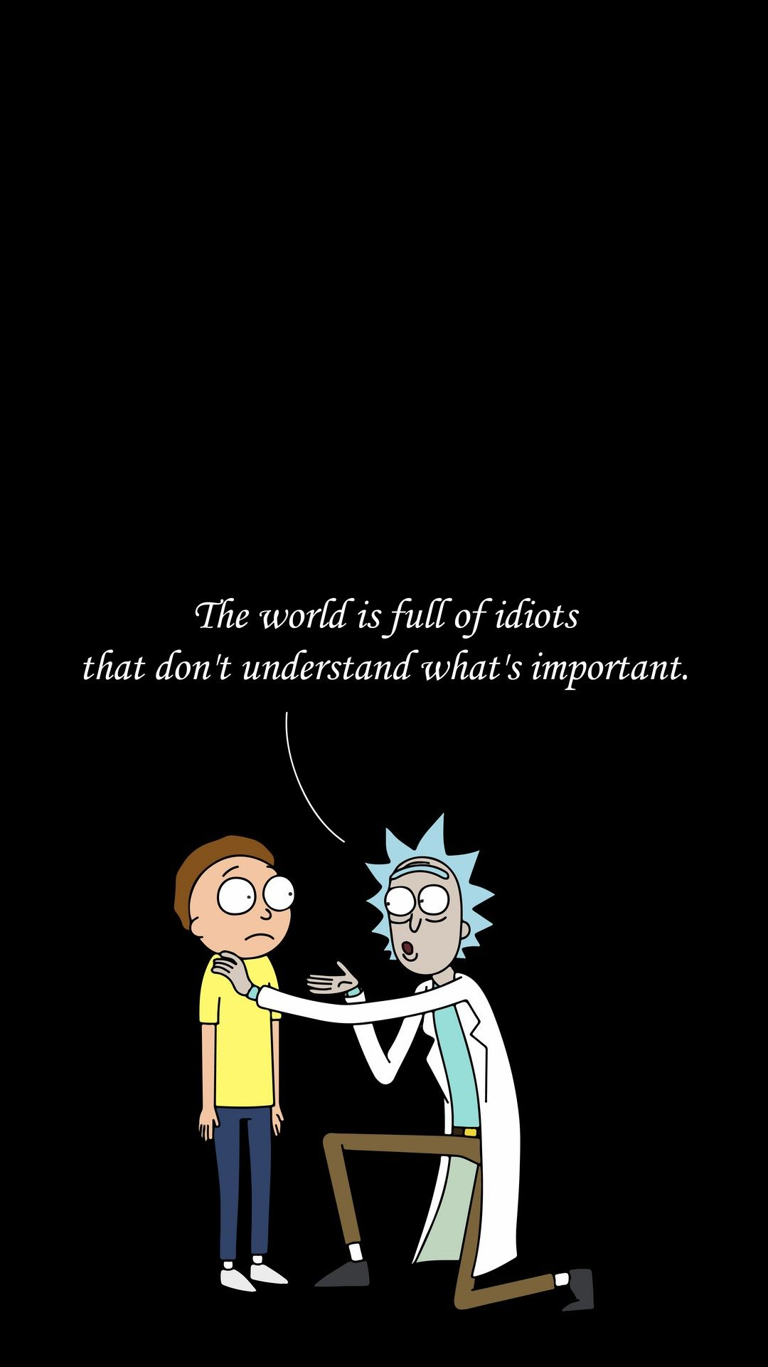 Rick And Morty Iphone Wallpapers Top Free Rick And Morty