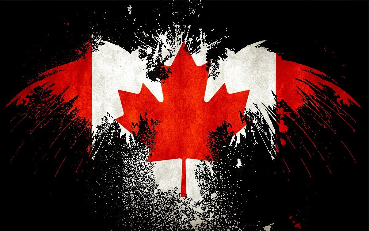 Cool canadian flag wallpapers top free cool canadian flag backgrounds wallpaperaccess - Canada flag 3d wallpaper ...