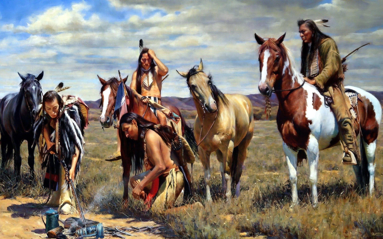 Native American Horses Wallpapers Top Free Native American Horses Backgrounds Wallpaperaccess