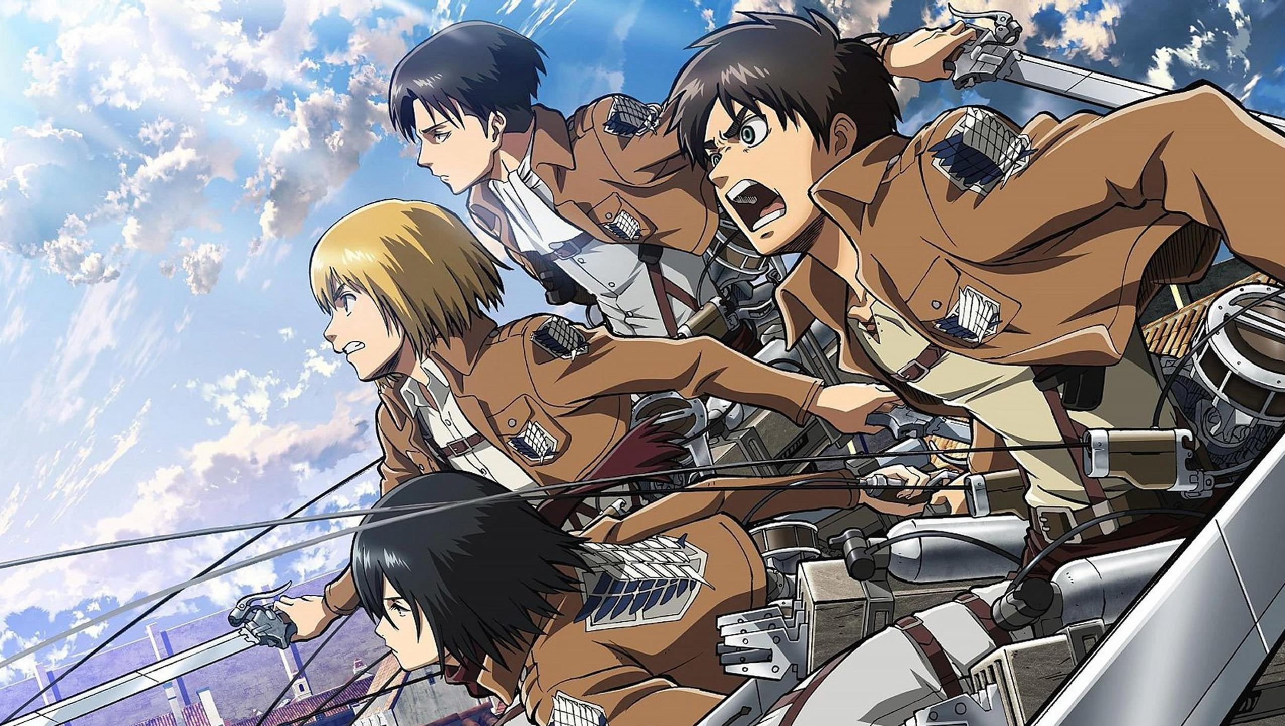 Attack On Titan Pc Wallpapers Top Free Attack On Titan Pc Backgrounds Wallpaperaccess