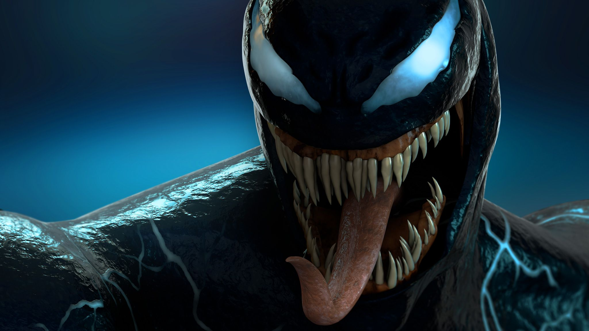 Venom 3d Wallpapers Top Free Venom 3d Backgrounds Wallpaperaccess