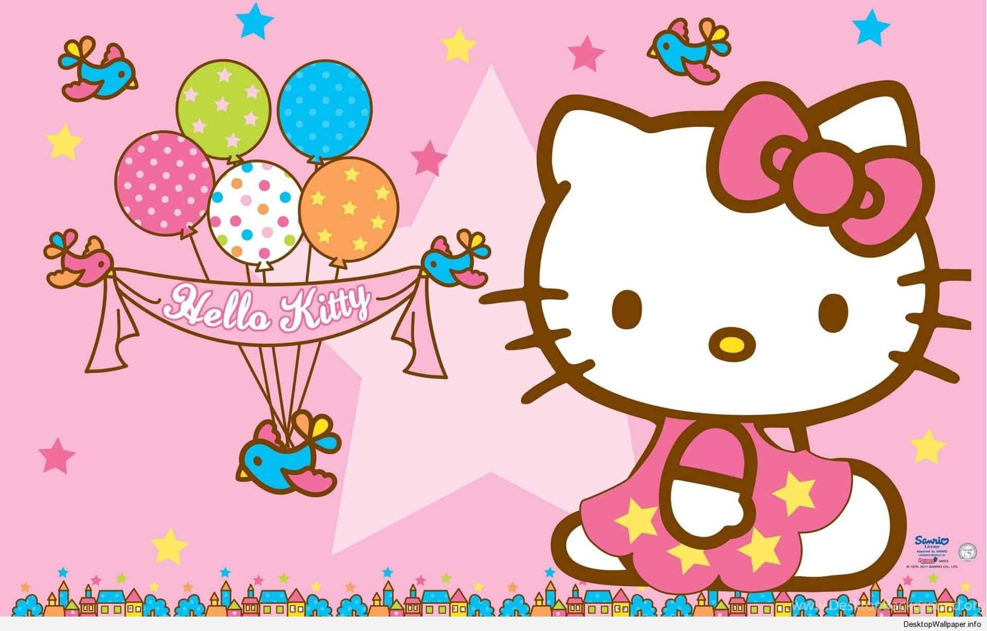 Hello Kitty Birthday Wallpapers Top Free Hello Kitty Birthday