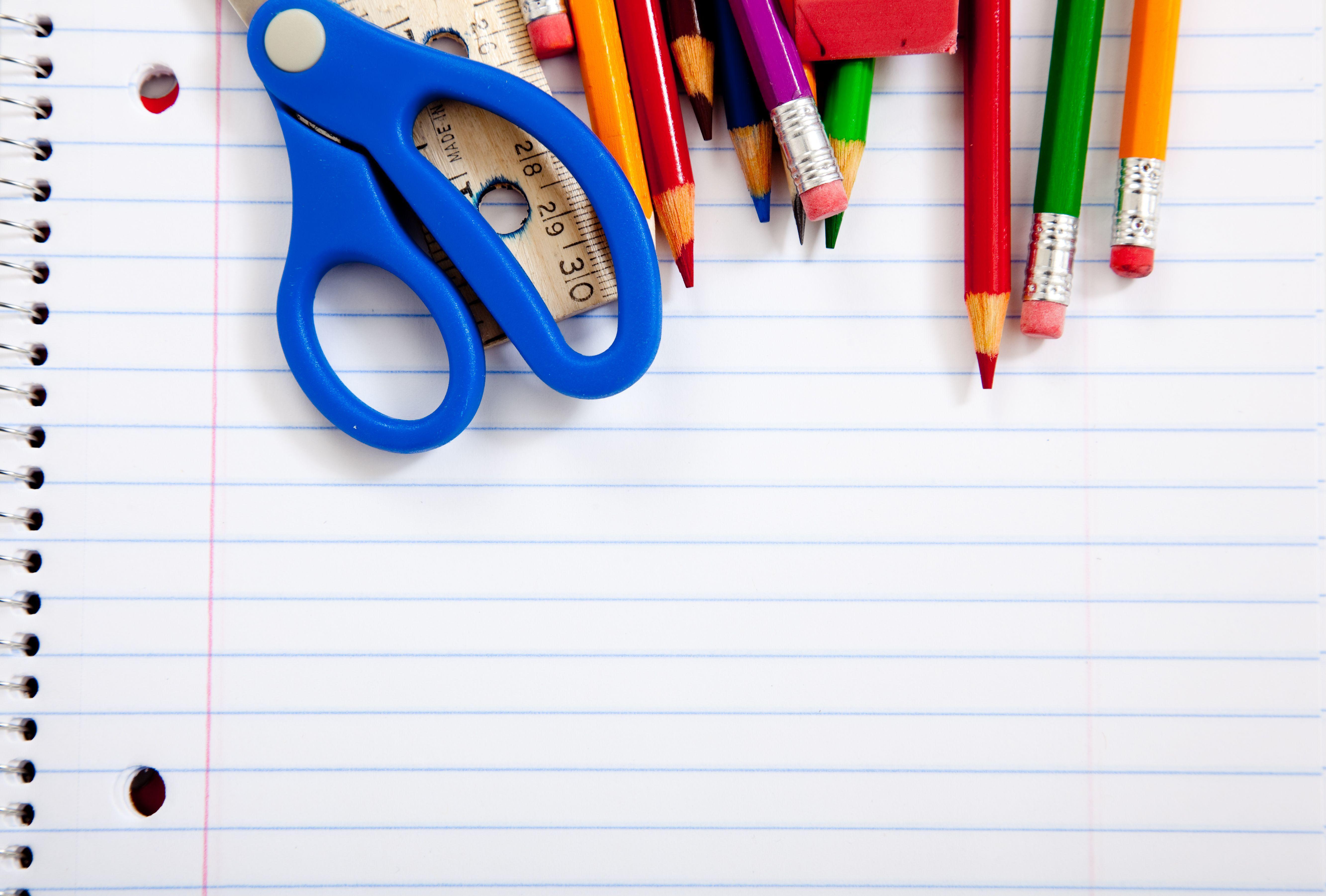School Supplies Wallpapers Top Free School Supplies Backgrounds Wallpaperaccess
