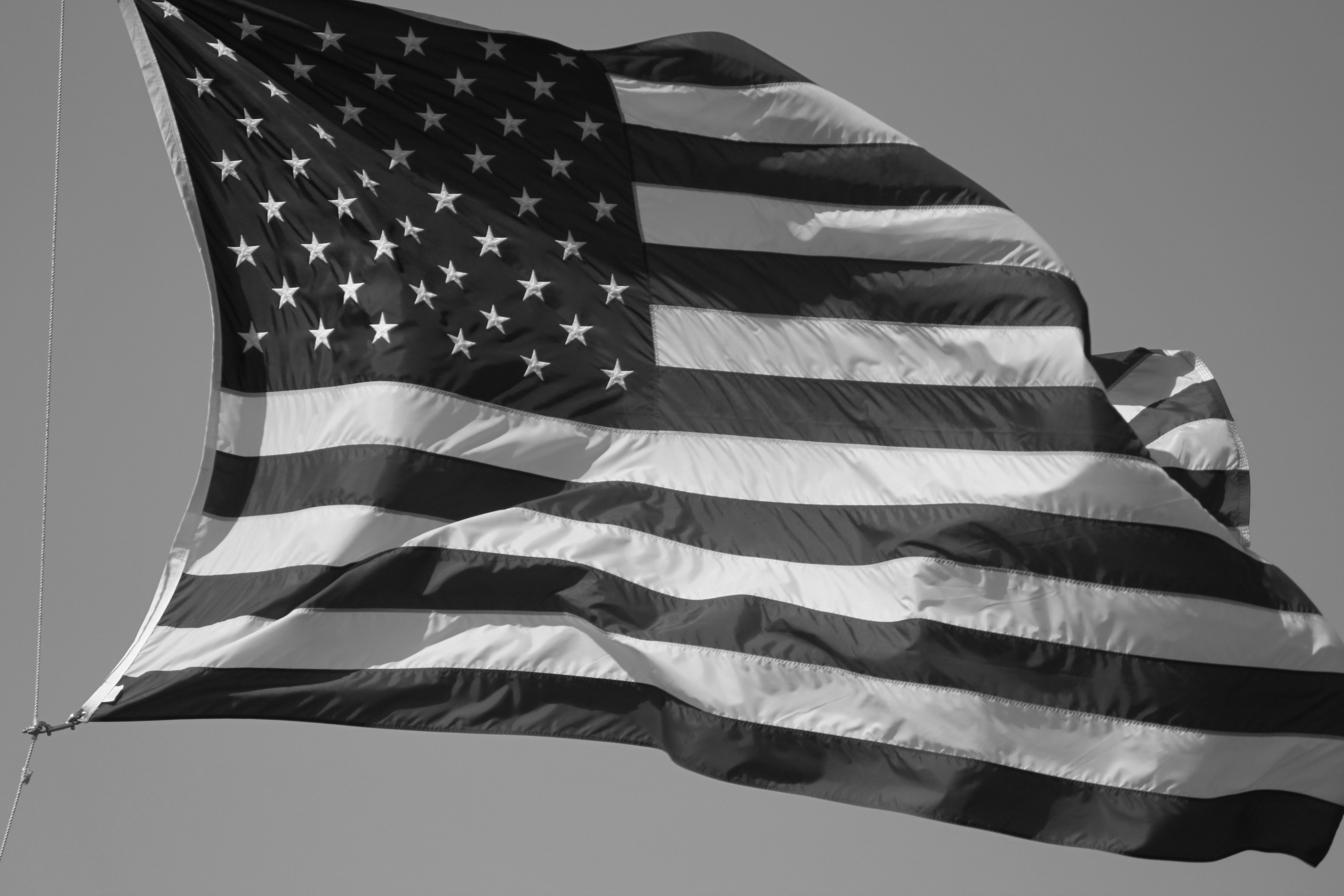 American Flag Black and White Wallpapers - Top Free ...