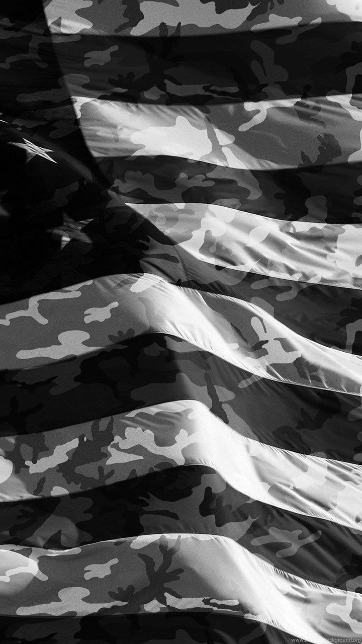 Camo American Flag Iphone Wallpaper