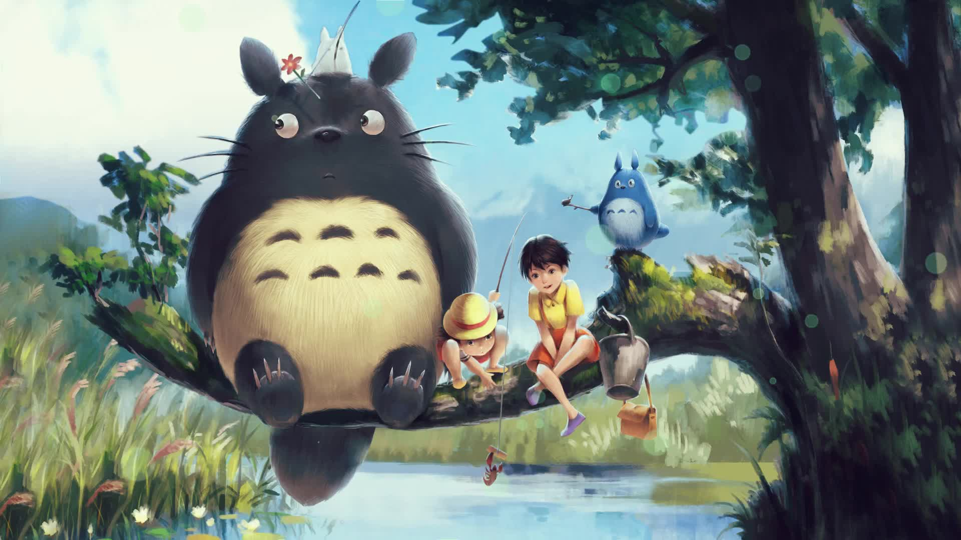 My Neighbour Totoro Wallpapers Top Free My Neighbour Totoro Backgrounds Wallpaperaccess