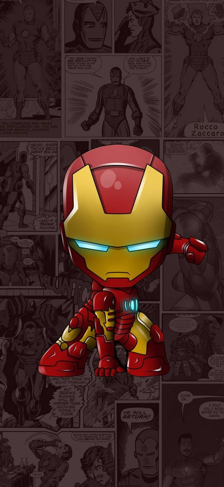 Ironman Cartoon Wallpapers Top Free Ironman Cartoon Backgrounds Wallpaperaccess