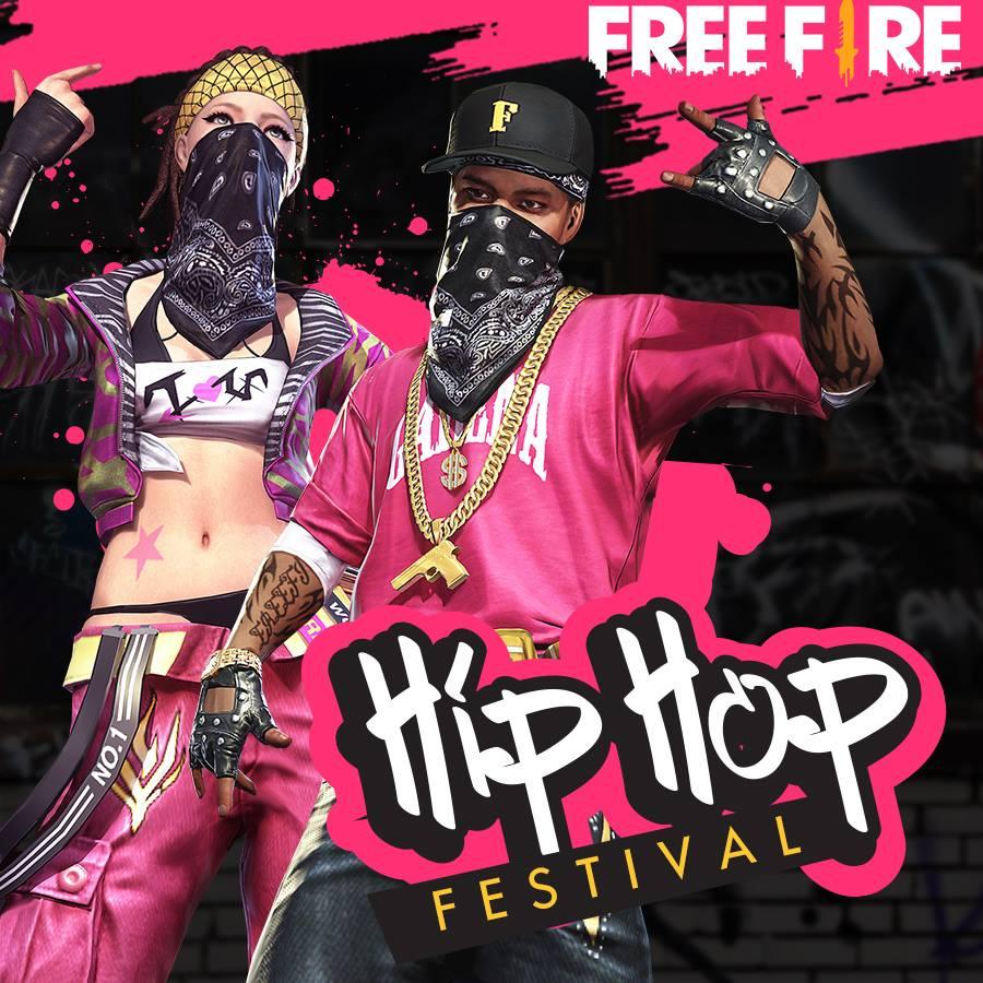 Hình nền Hip Hop Free Fire 900x900