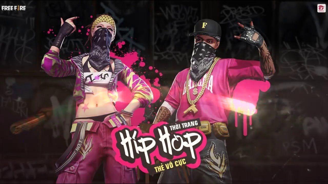 1280x720 Free Fire Hip Hop hình nền