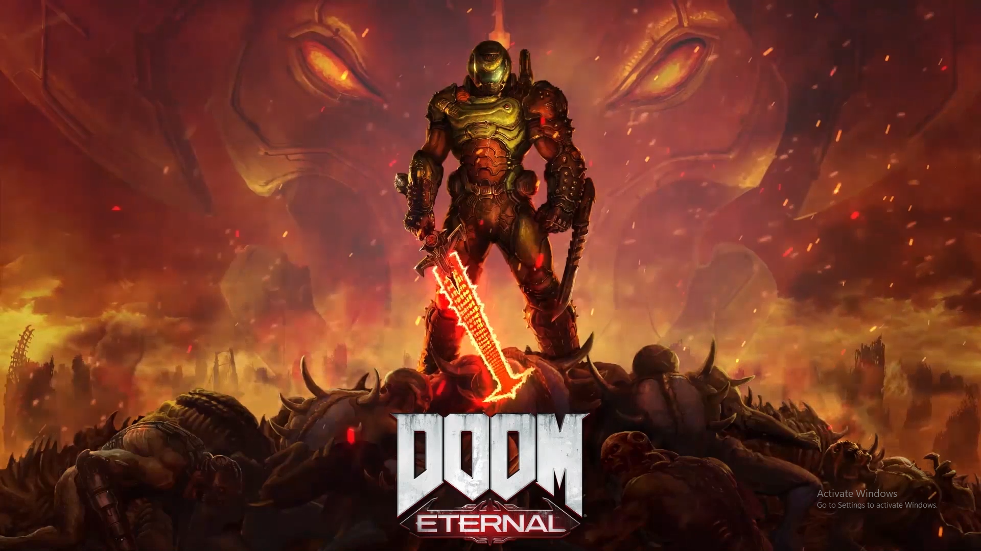 Doom Eternal 4k Wallpapers Top Free Doom Eternal 4k Backgrounds