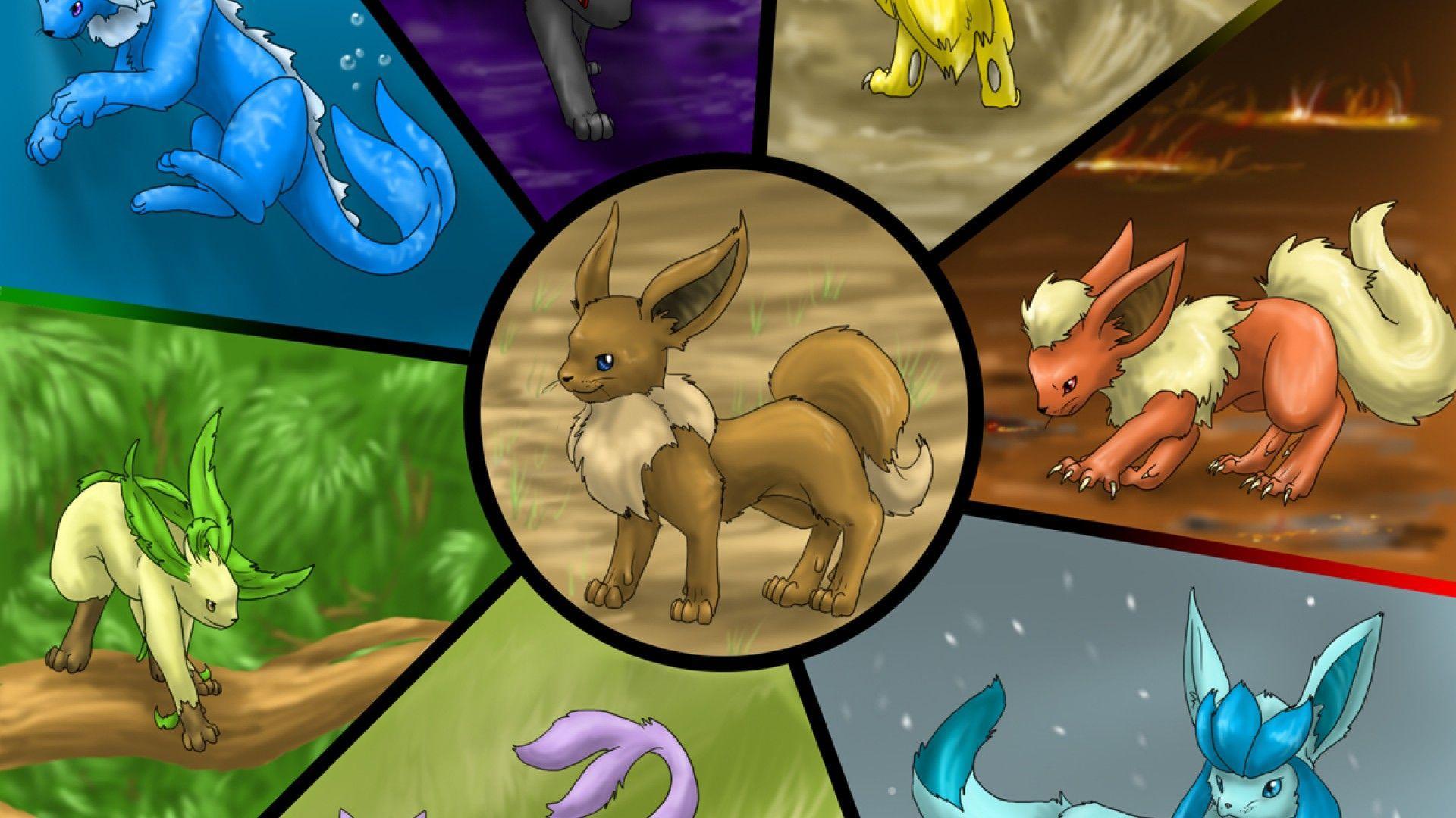 Pokemon Eevee Wallpapers Top Free Pokemon Eevee Backgrounds