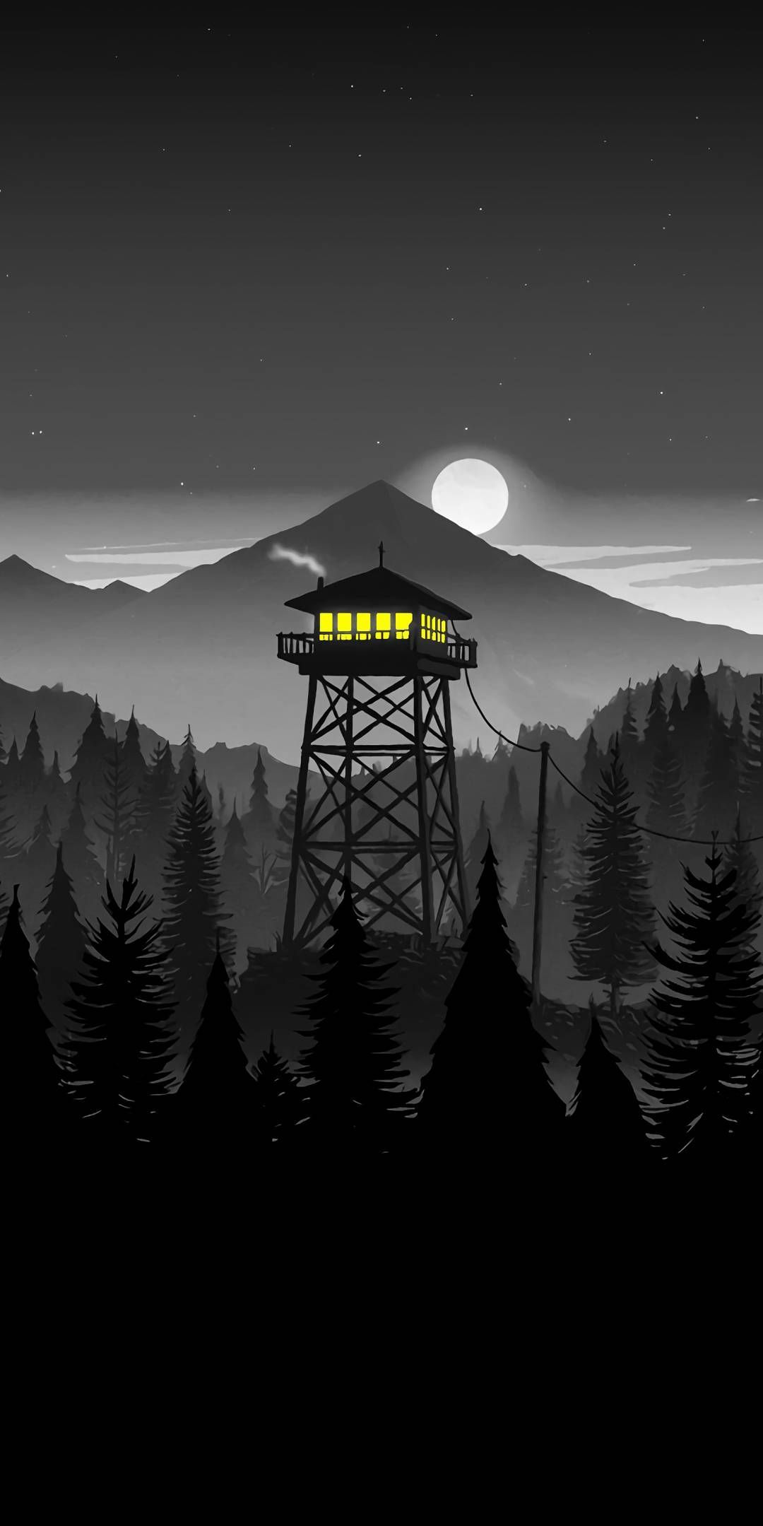 Firewatch Phone Wallpapers Top Free Firewatch Phone Backgrounds Wallpaperaccess