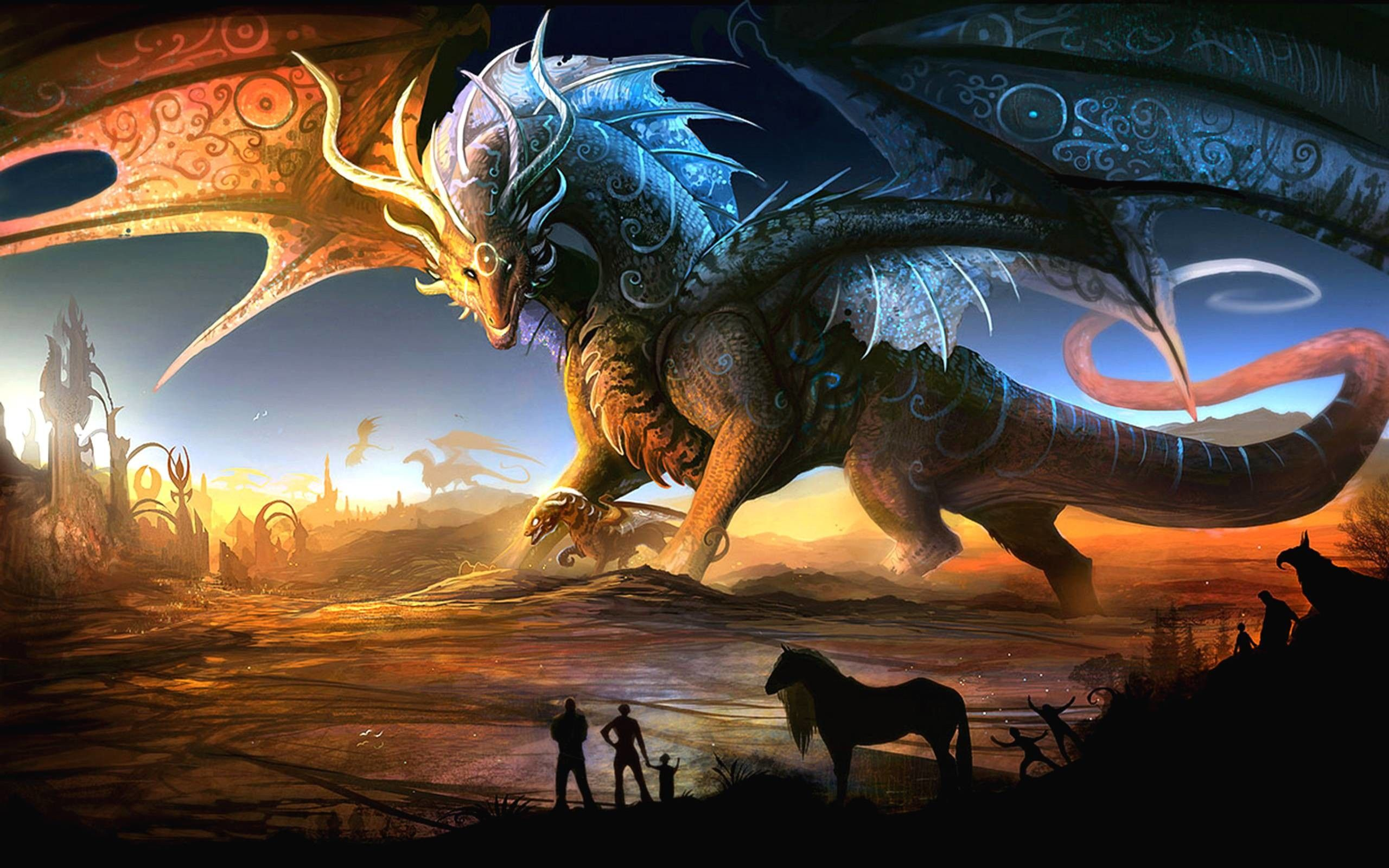 Epic Dragon Wallpapers Top Free Epic Dragon Backgrounds Wallpaperaccess