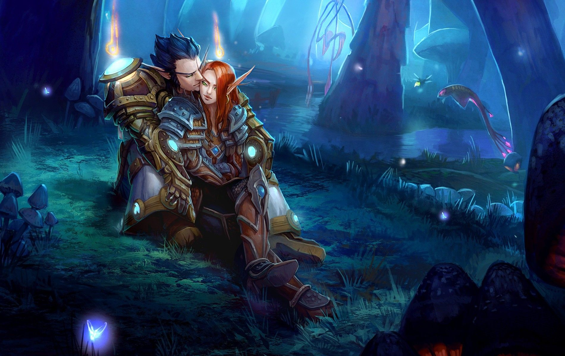 Warcraft Night Elf Wallpapers Top Free Warcraft Night Elf