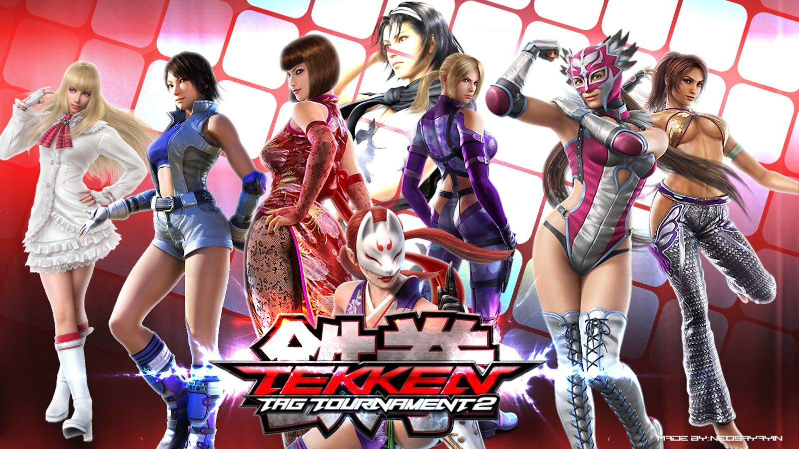 tekken tag tournament 2 all characters wallpaper