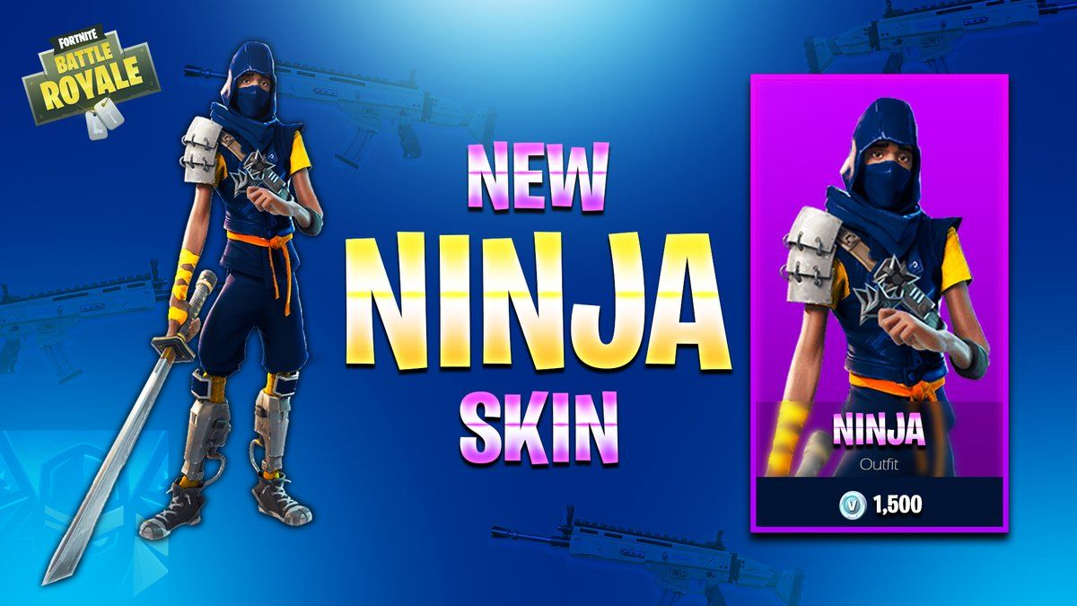 Fortnite Ninja Wallpapers Top Free Fortnite Ninja