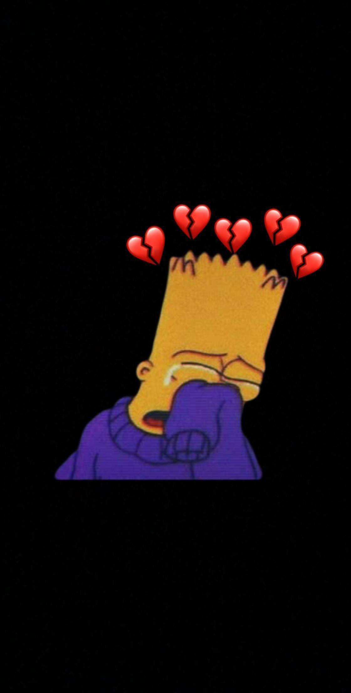 Depressed Simpsons Wallpapers Top Free Depressed Simpsons Backgrounds Wallpaperaccess