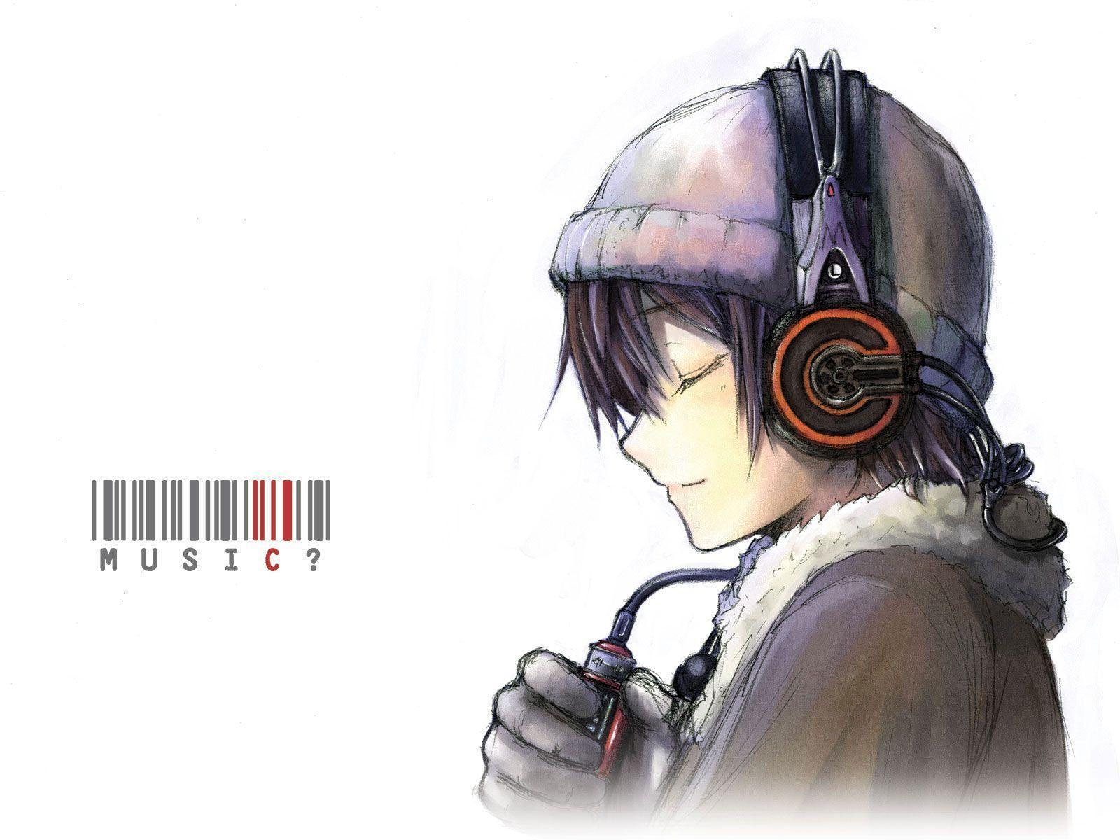 Tôi muốn nói 1600x1200.Lelouch ?.  Cậu bé anime đeo tai nghe, Hình nền anime, Nhạc anime