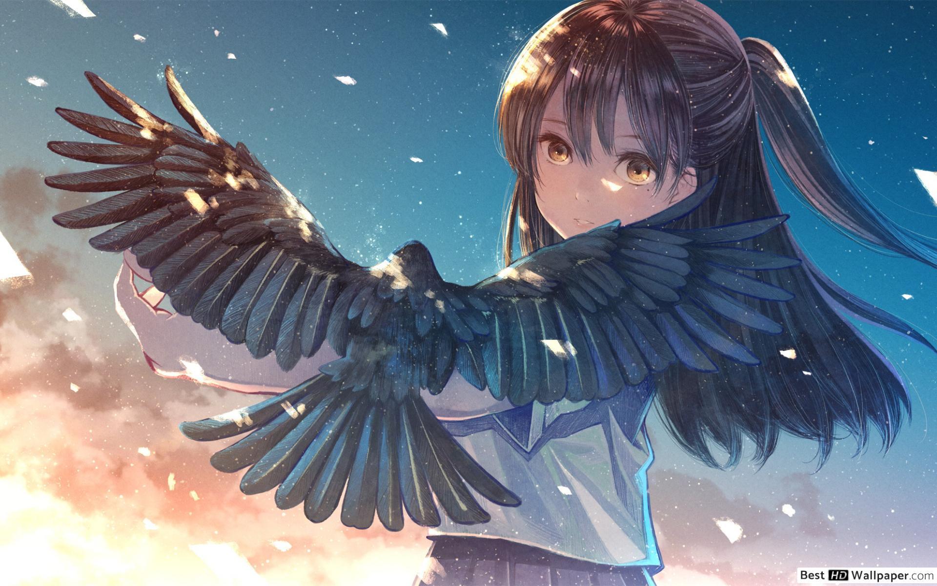 Background Hello World Anime Wallpaper Hd - Allwallpaper