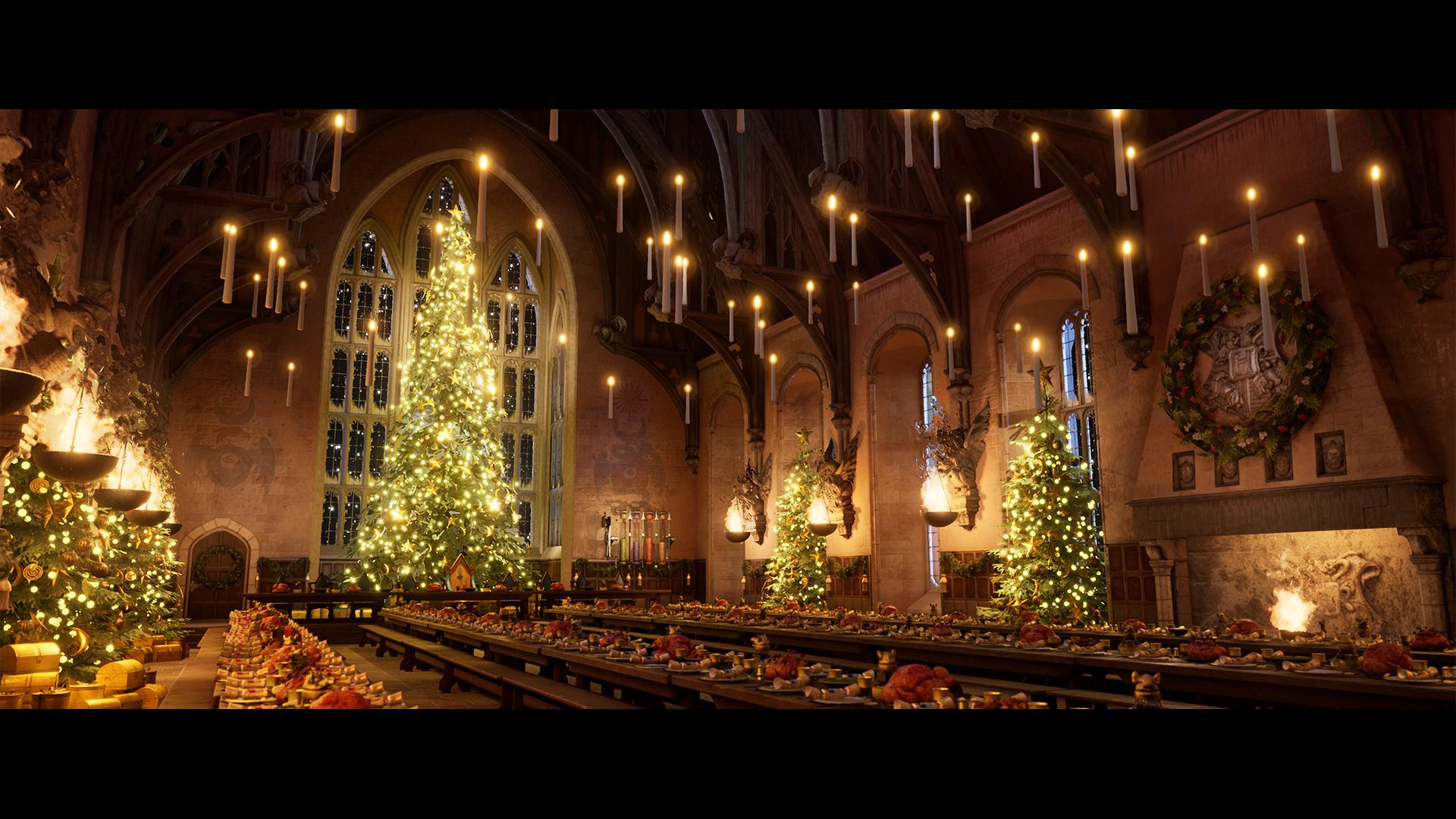 Great Hall Harry Potter Desktop Wallpapers Top Free Great Hall