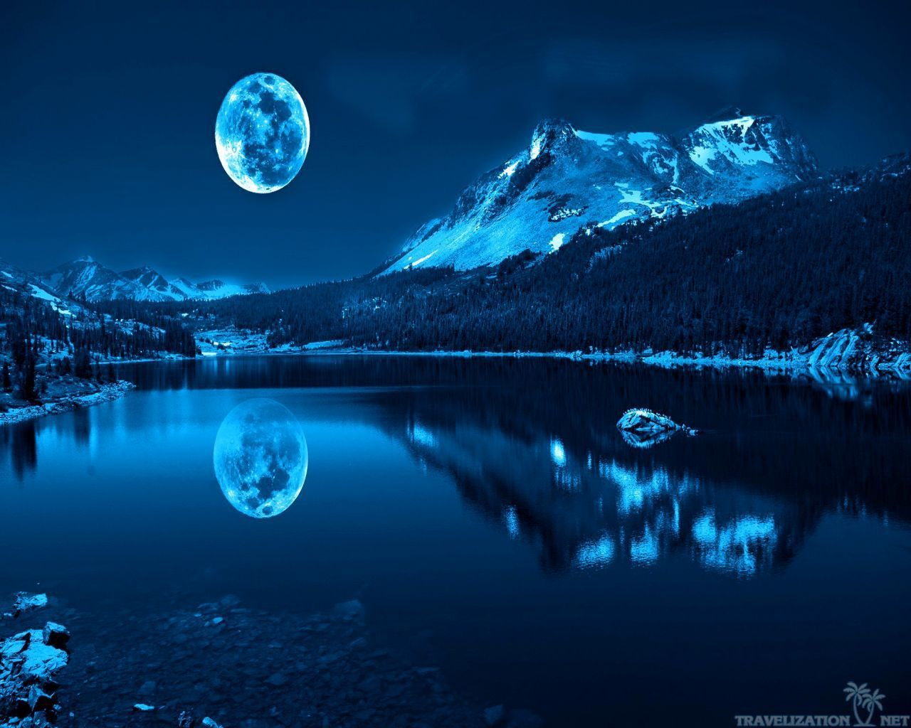 Top Free Blue Moon Backgrounds