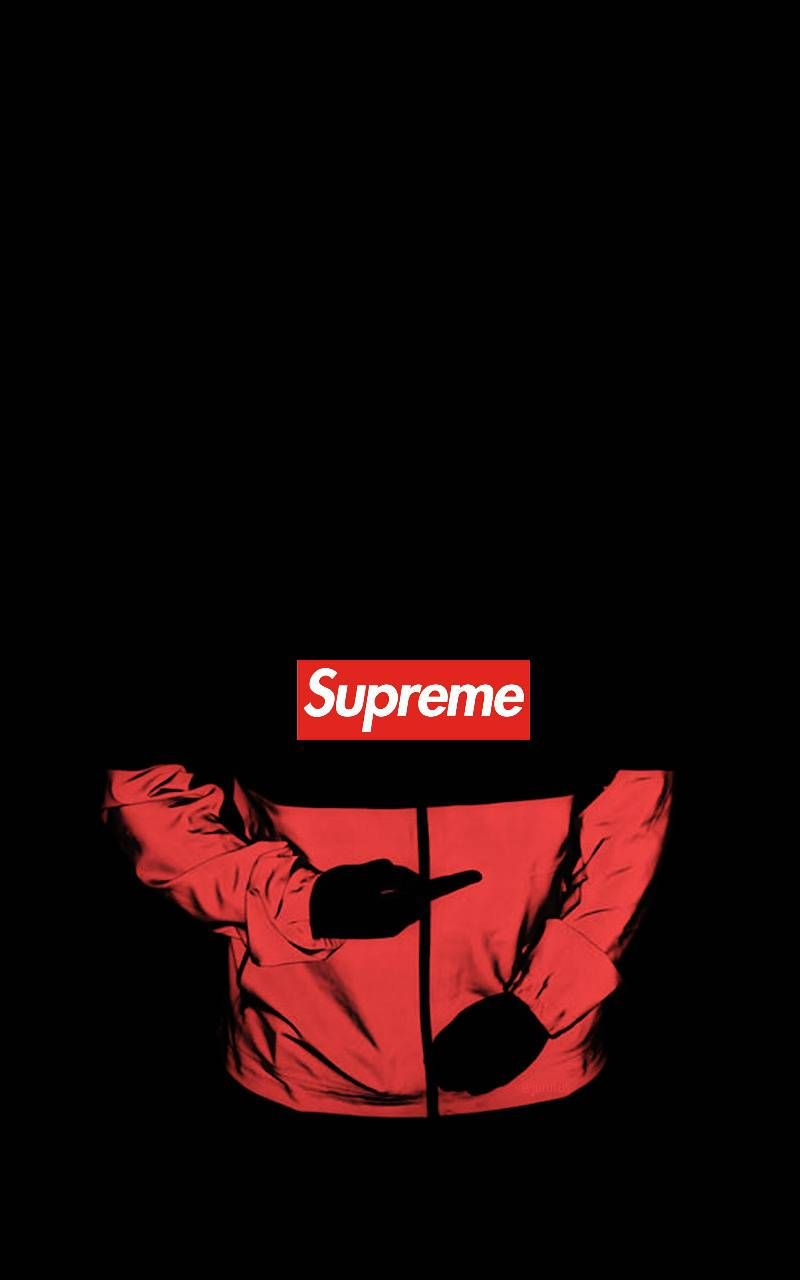 Supreme Red Wallpapers - Top Free Supreme Red Backgrounds - WallpaperAccess