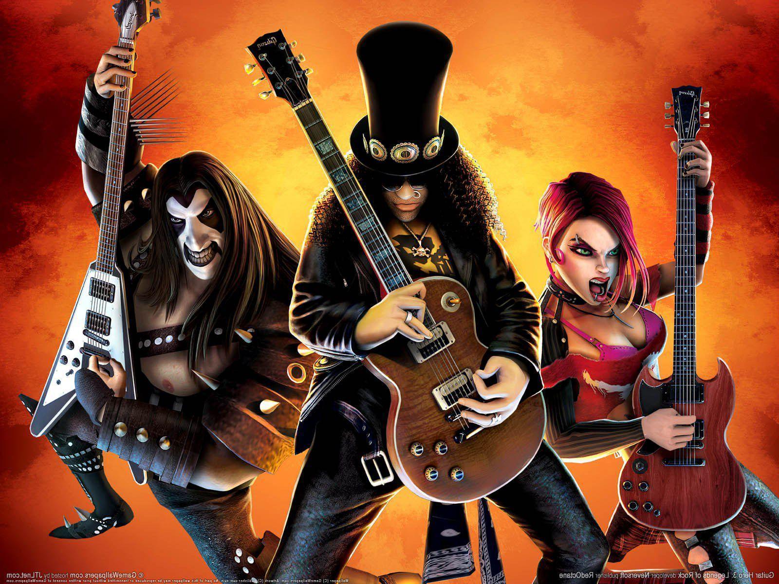 Guitar Hero Wallpapers Top Free Guitar Hero Backgrounds Wallpaperaccess