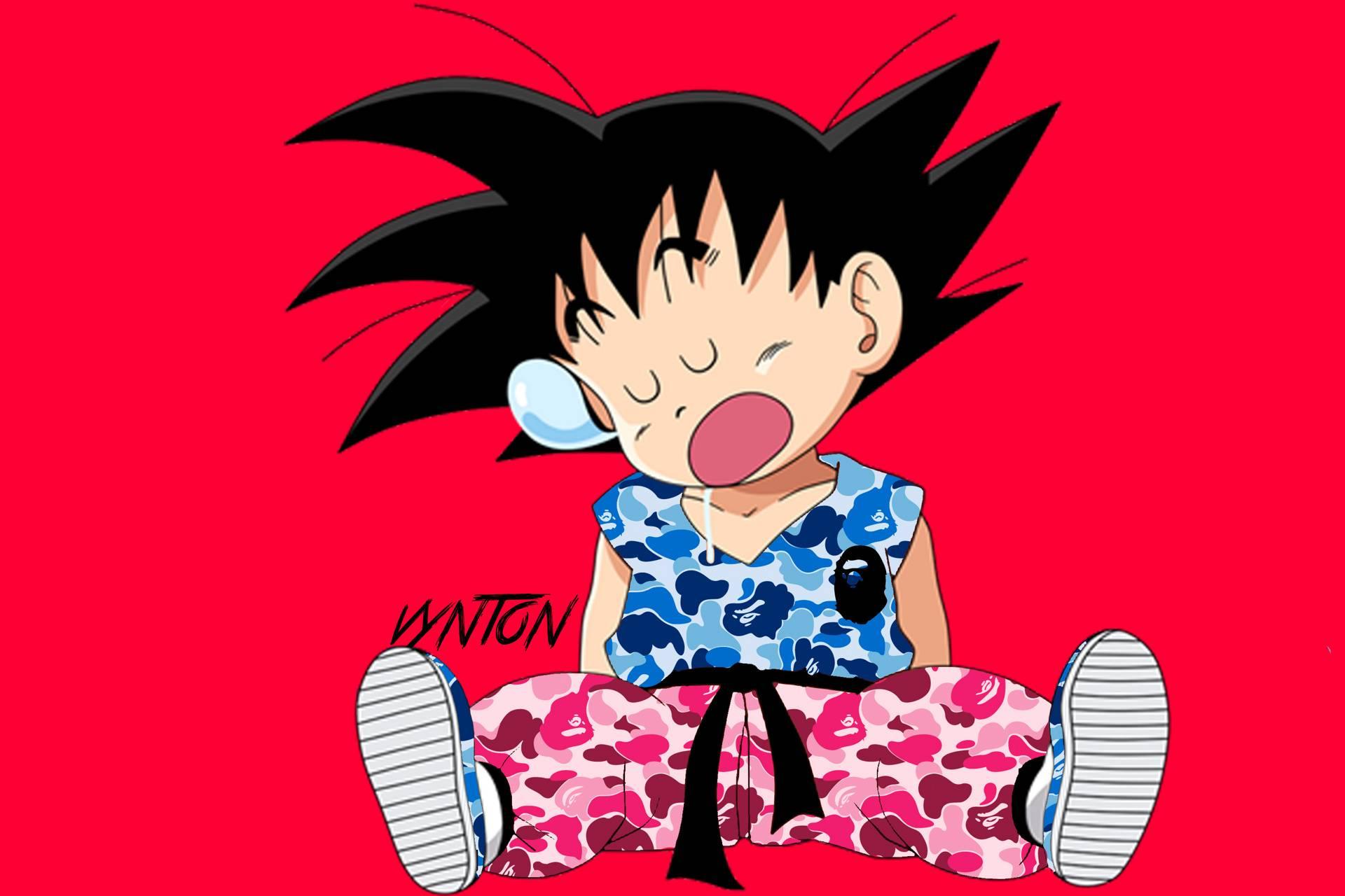 Baby Goku Wallpapers Top Free Baby Goku Backgrounds Wallpaperaccess