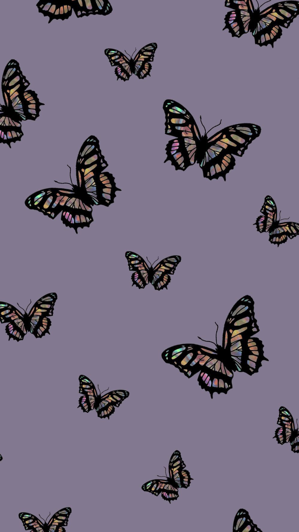 Aesthetic Butterfly Quote Butterfly Emoji Wallpaper ...