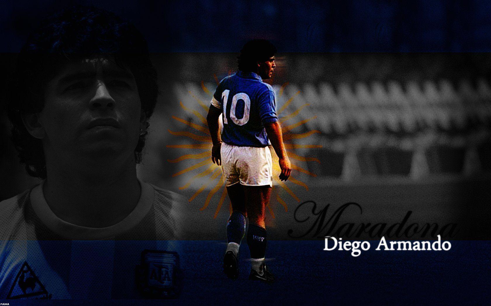Diego Maradona Wallpapers Top Free Diego Maradona Backgrounds Wallpaperaccess