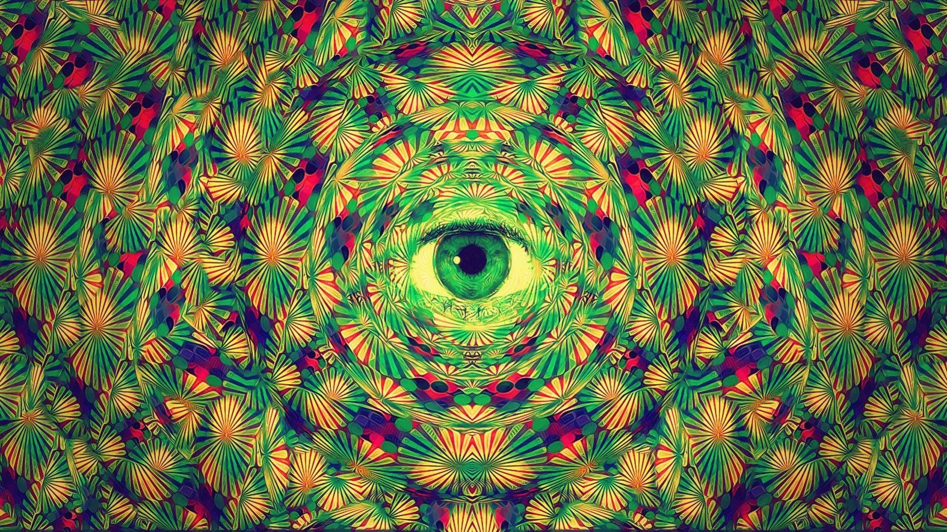 Trippy Alien Desktop Wallpapers Top Free Trippy Alien