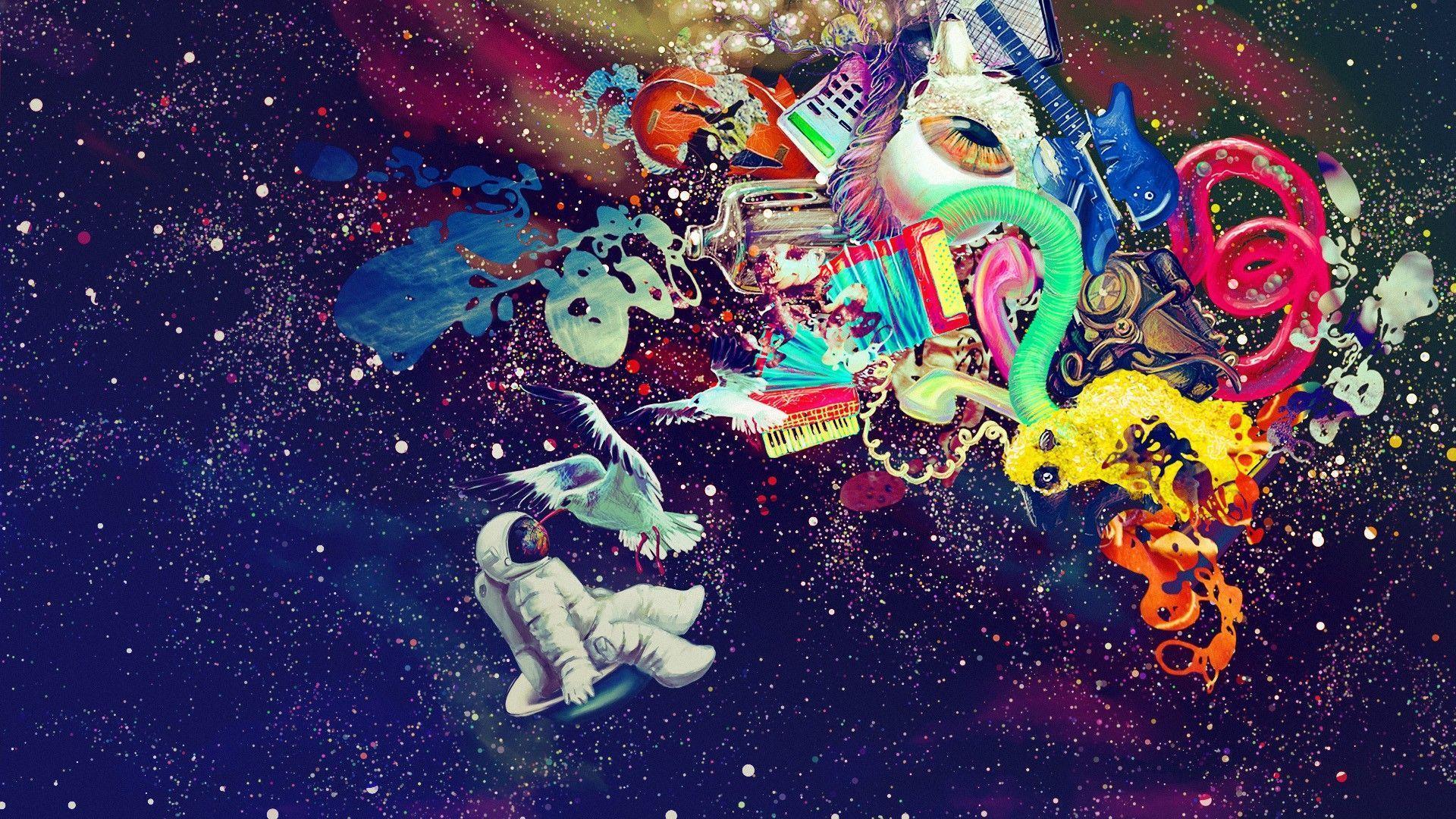 43 Best Free Funky Trippy Wallpapers