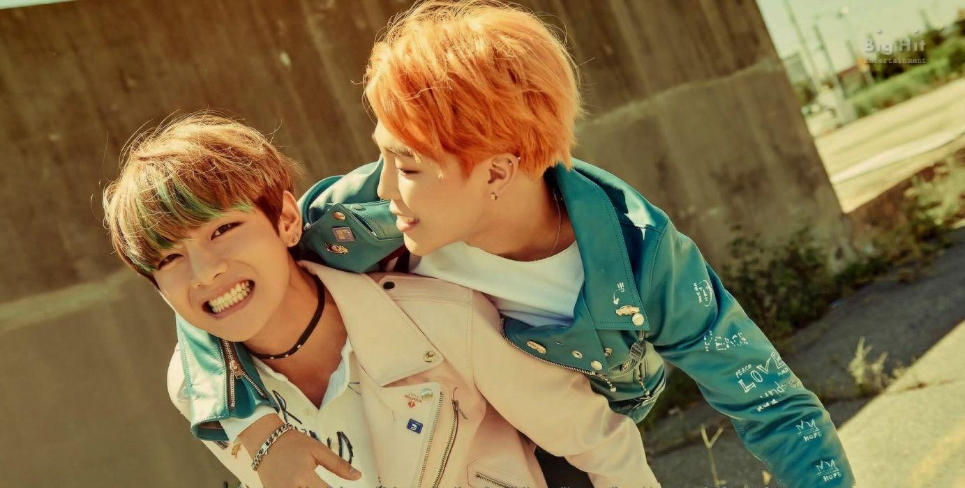 V And Jimin Wallpapers Top Free V And Jimin Backgrounds Wallpaperaccess