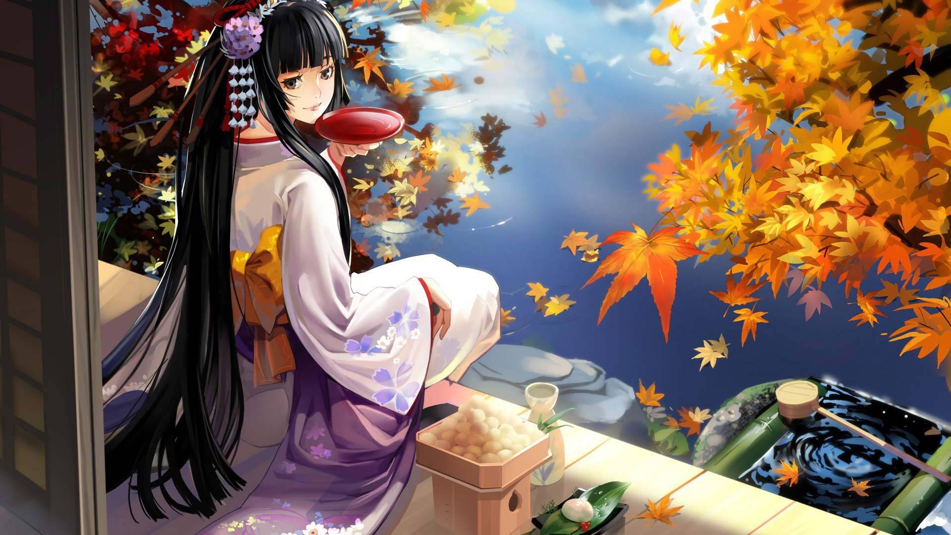 Anime Kimono Wallpapers Top Free Anime Kimono Backgrounds