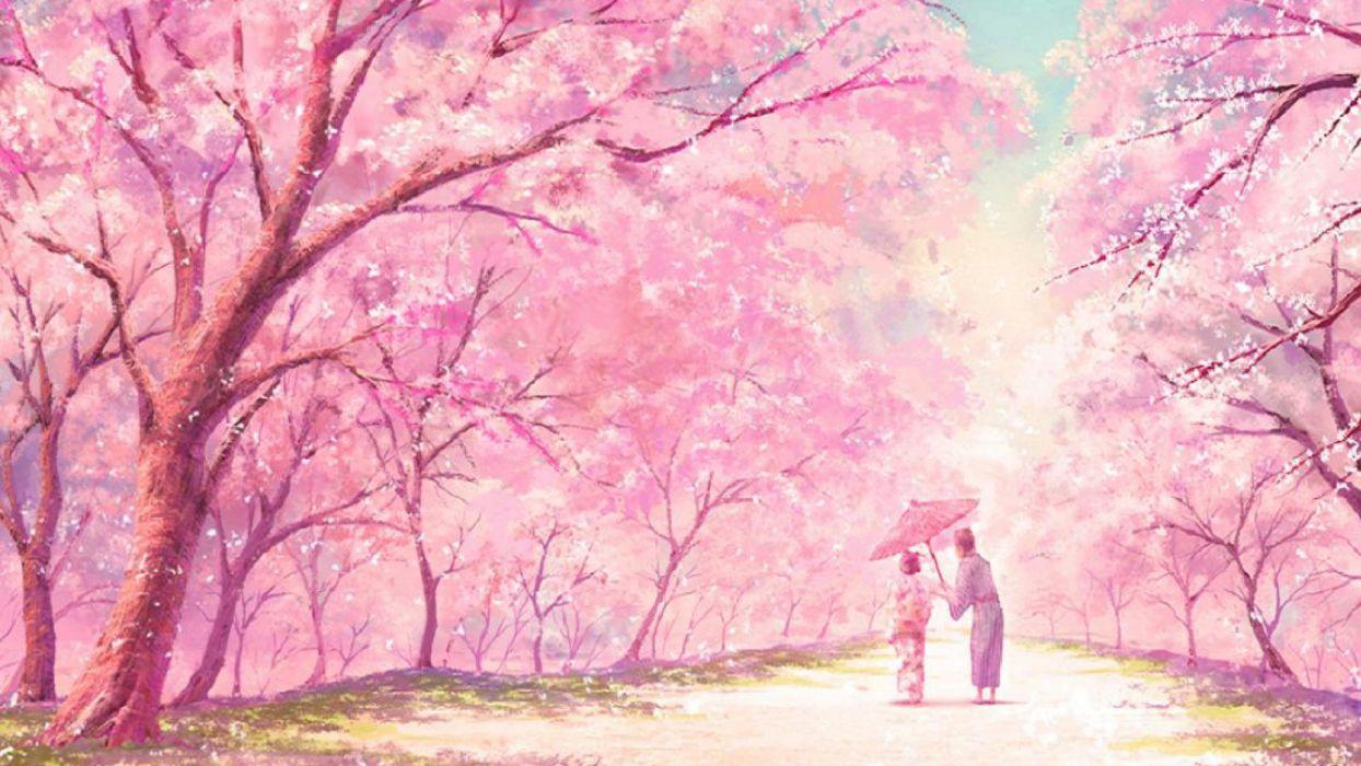 Pink Anime Wallpaper 1920x1080