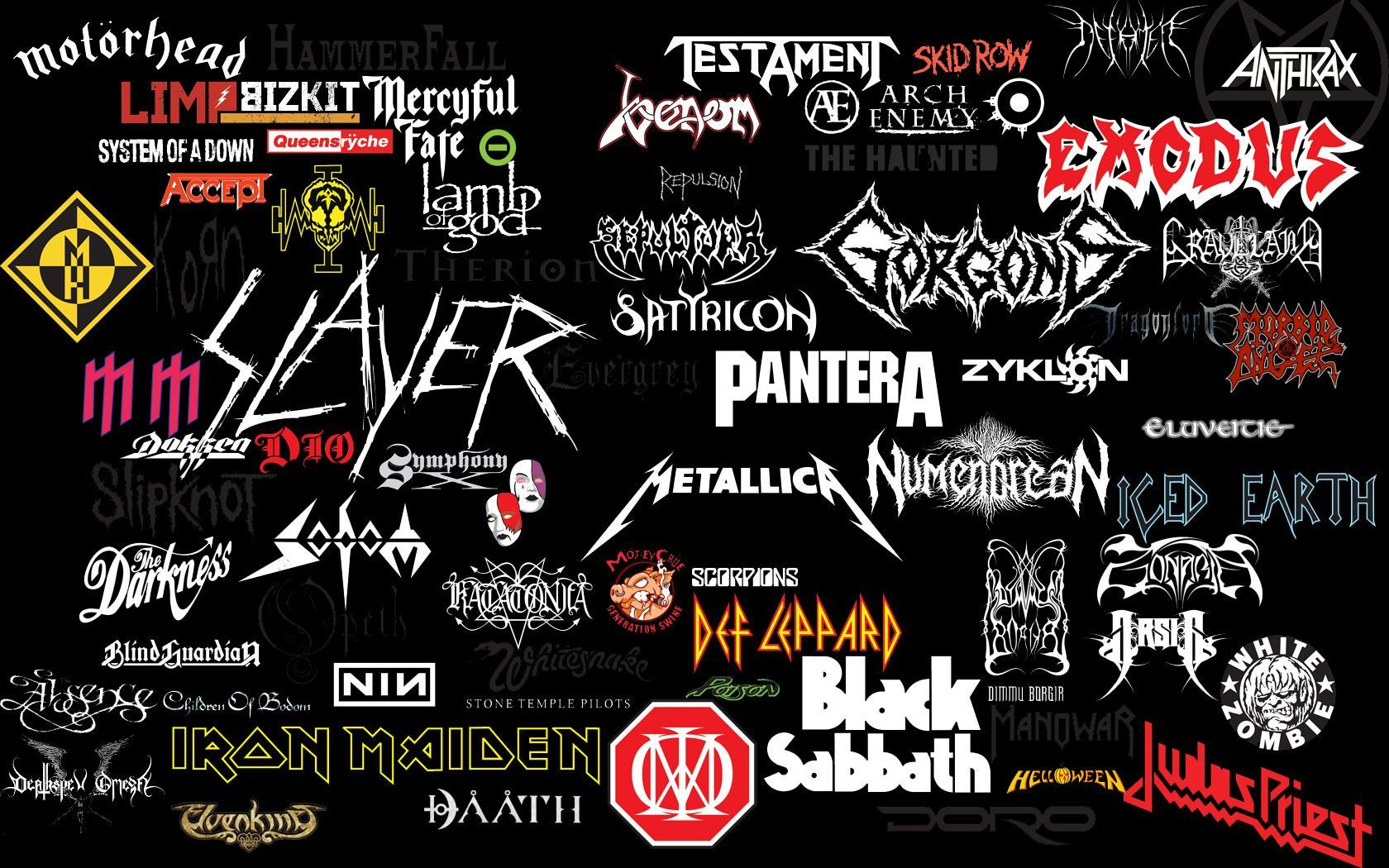 Heavy Metal Bands Wallpapers Top Free Heavy Metal Bands Backgrounds Wallpaperaccess
