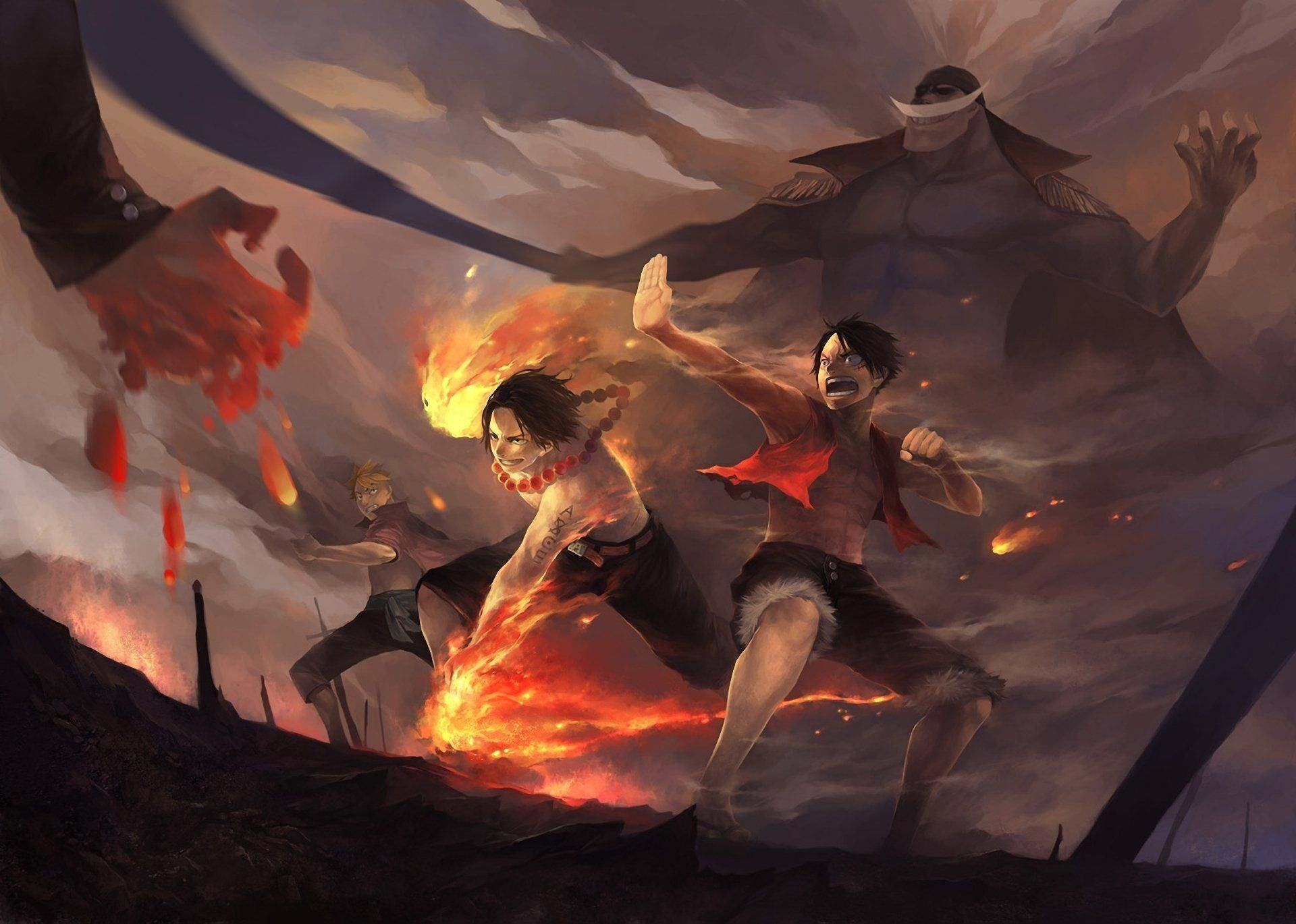 One Piece Epic Wallpapers Top Free One Piece Epic Backgrounds Wallpaperaccess