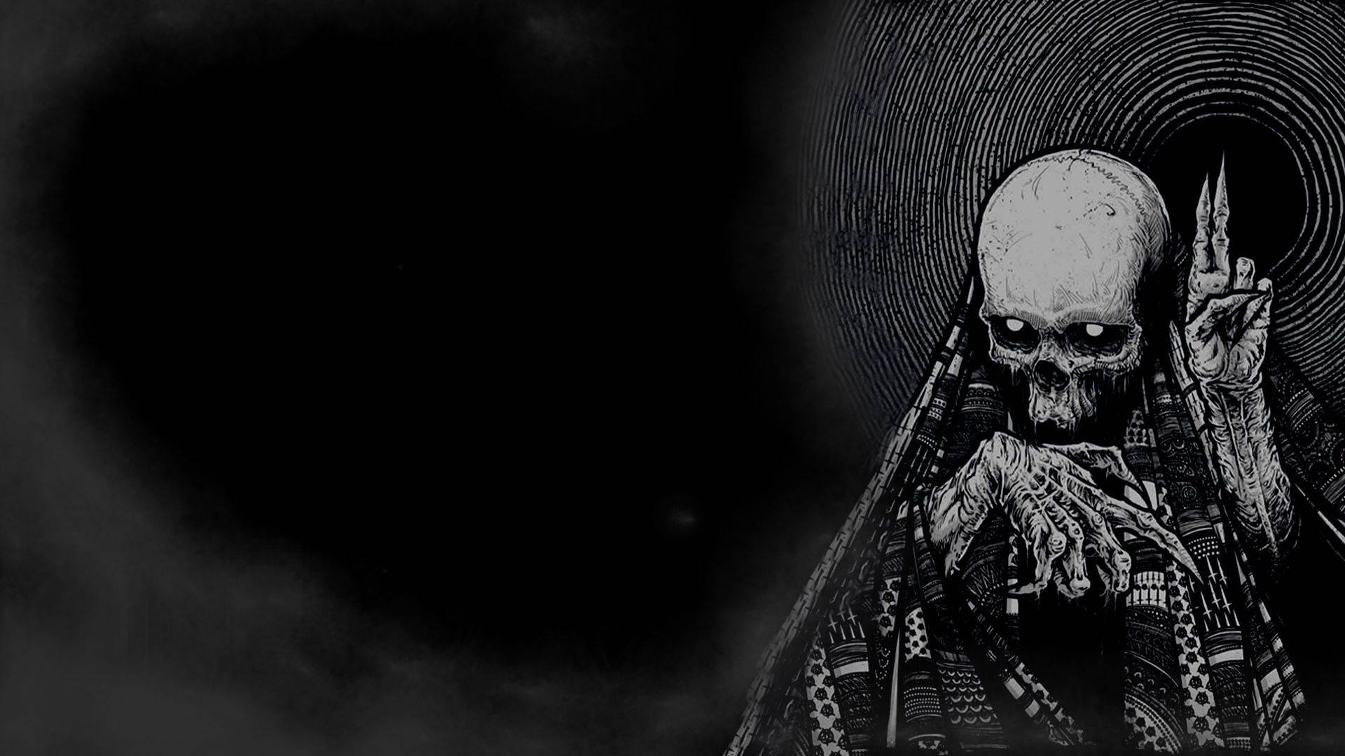 Black Skull Wallpapers Top Free Black Skull Backgrounds
