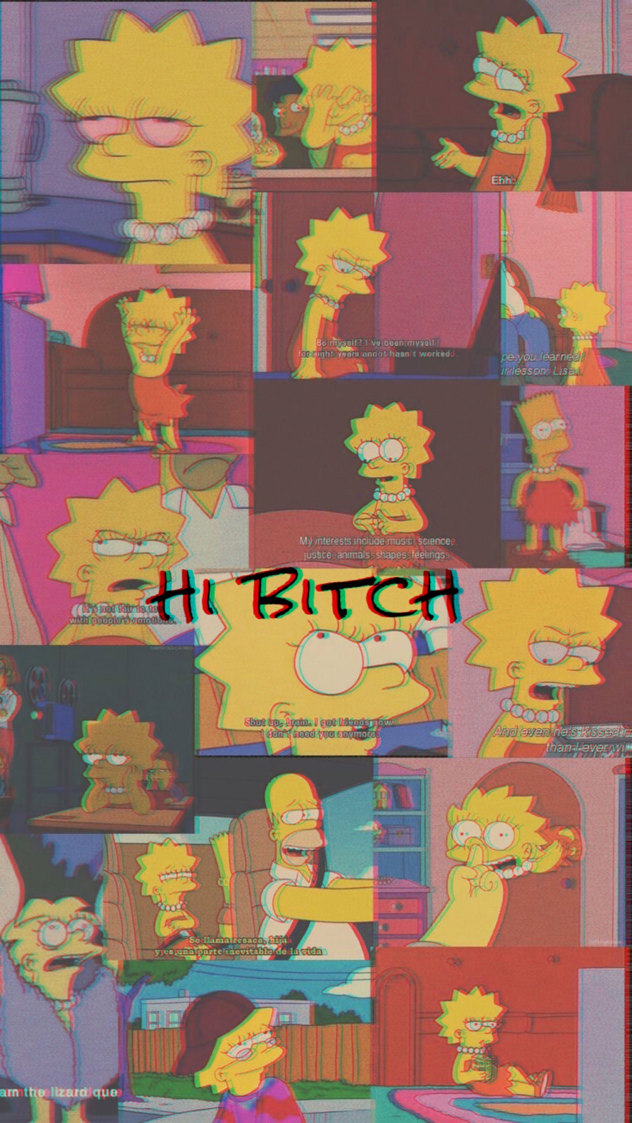 Sad Lisa Simpson Wallpapers Top Free Sad Lisa Simpson Backgrounds Wallpaperaccess