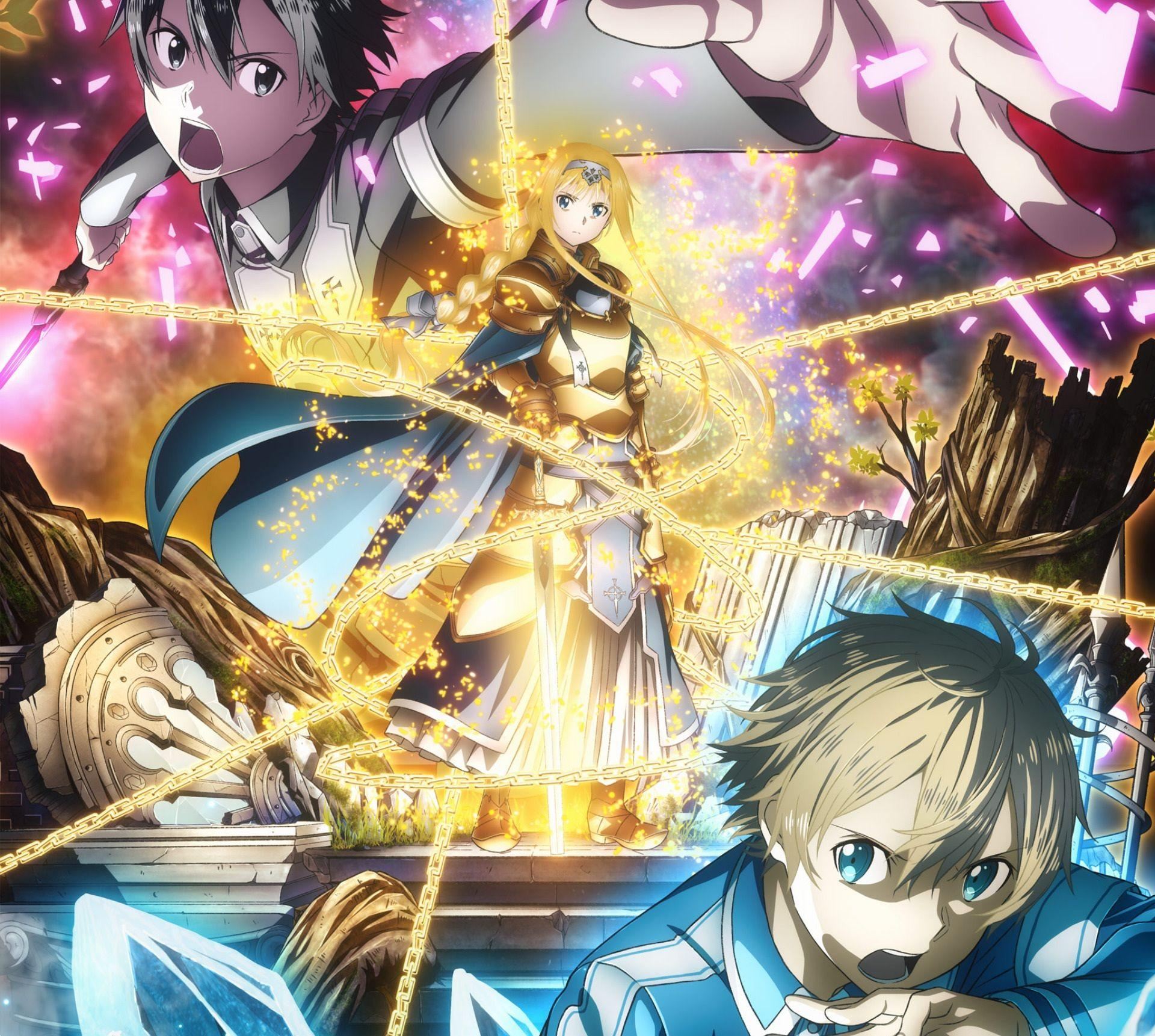 Sword Art Online Alicization Wallpapers Top Free Sword Art Online Alicization Backgrounds Wallpaperaccess