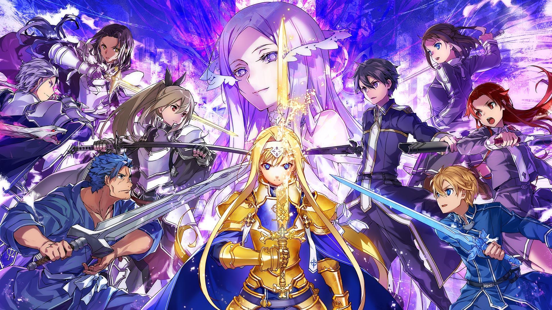 Sword Art Online Alicization Wallpapers - Top Free Sword ...