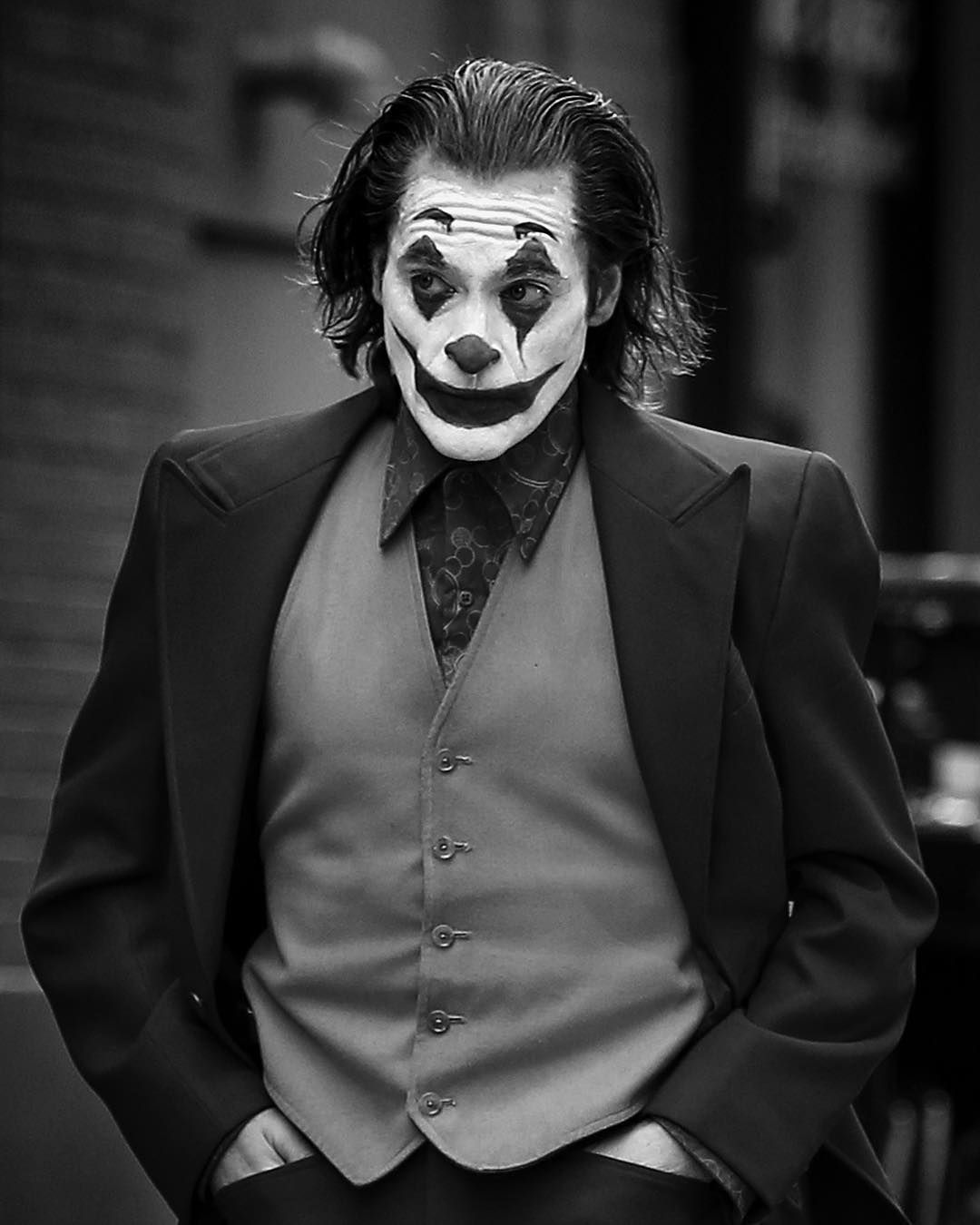 Black and White Joker Wallpapers - Top Free Black and ...