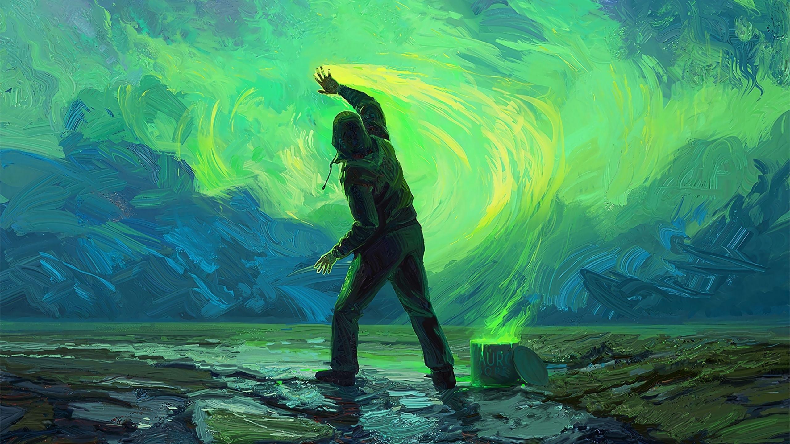 Green Art Wallpapers - Top Free Green Art Backgrounds - WallpaperAccess