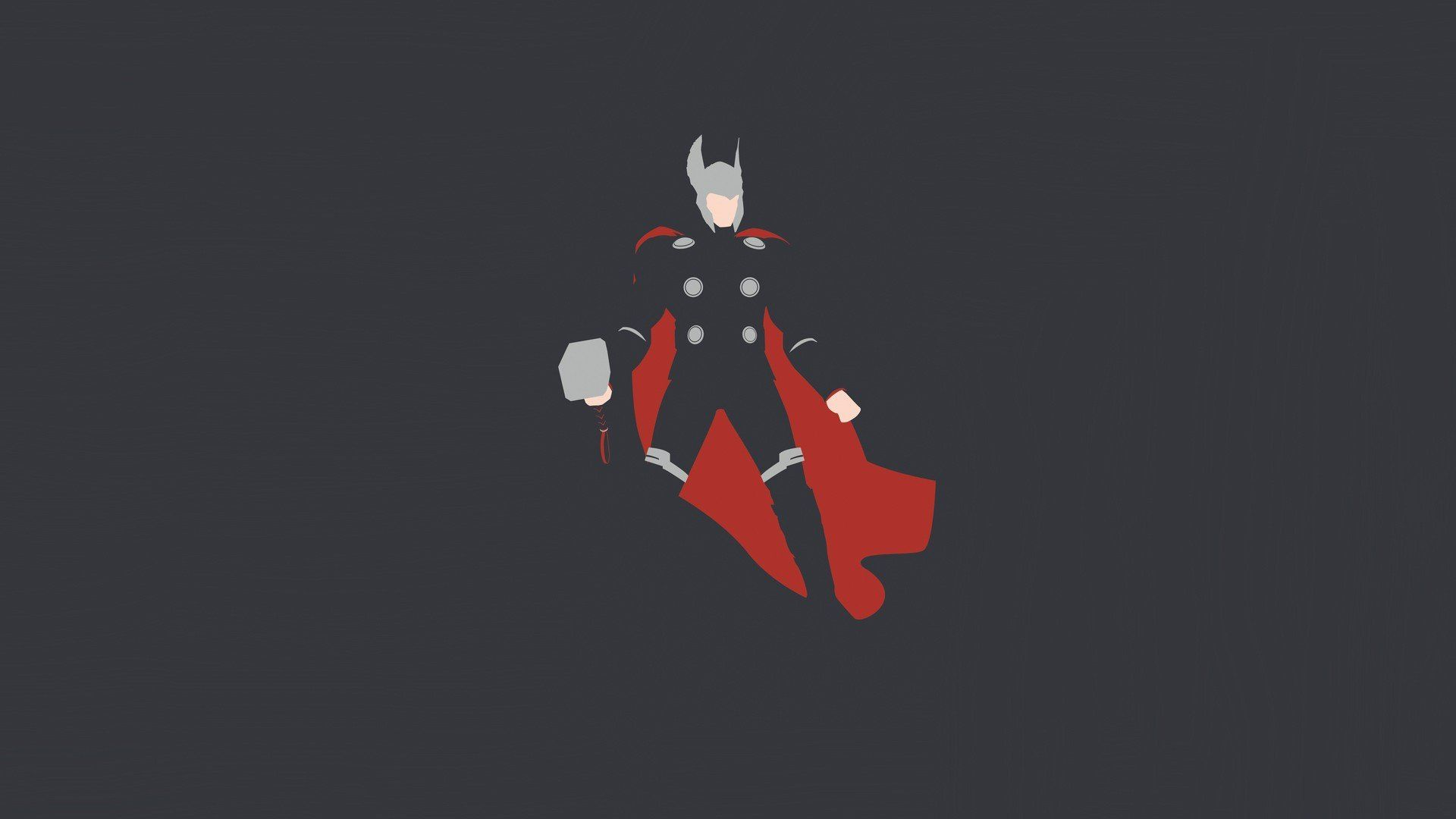 Thor Minimalist Wallpapers Top Free Thor Minimalist Backgrounds Wallpaperaccess
