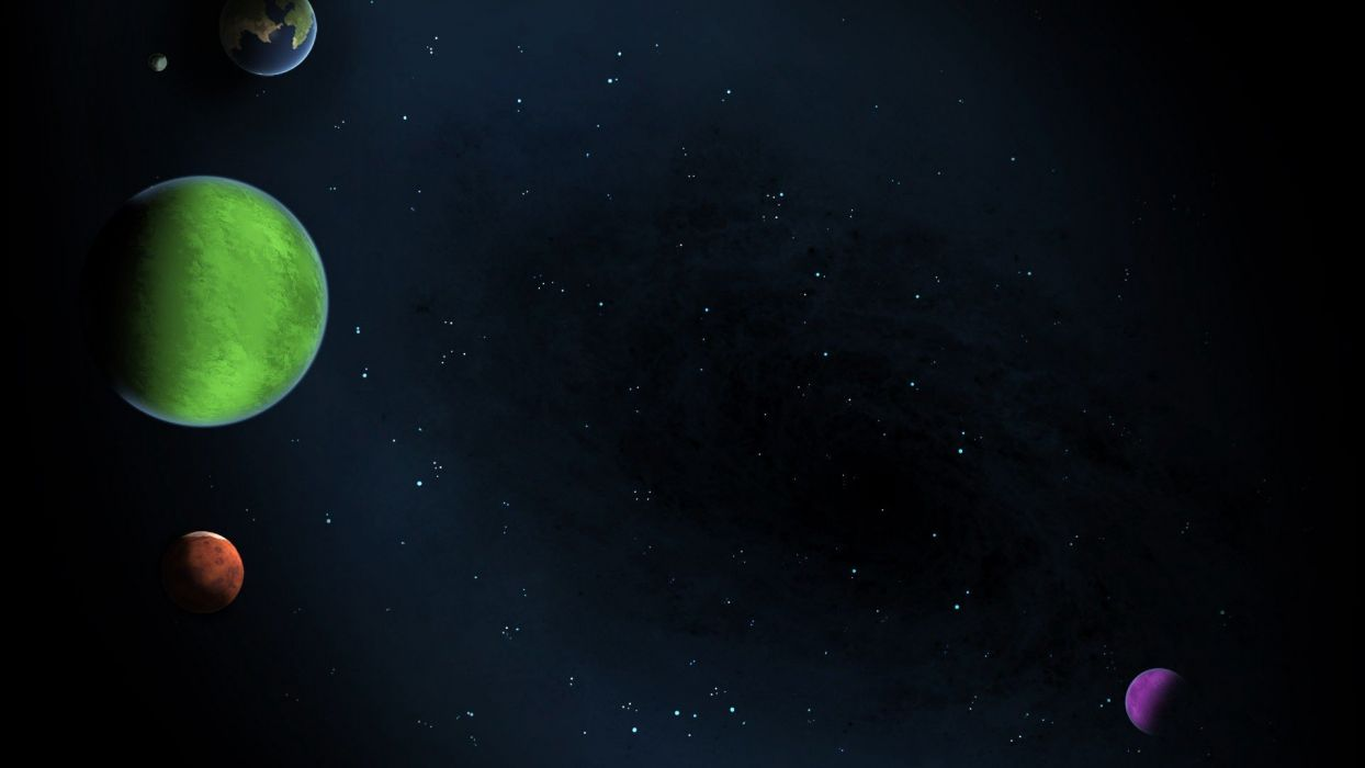 Cartoon Outer Space Wallpapers - Top Free Cartoon Outer ...