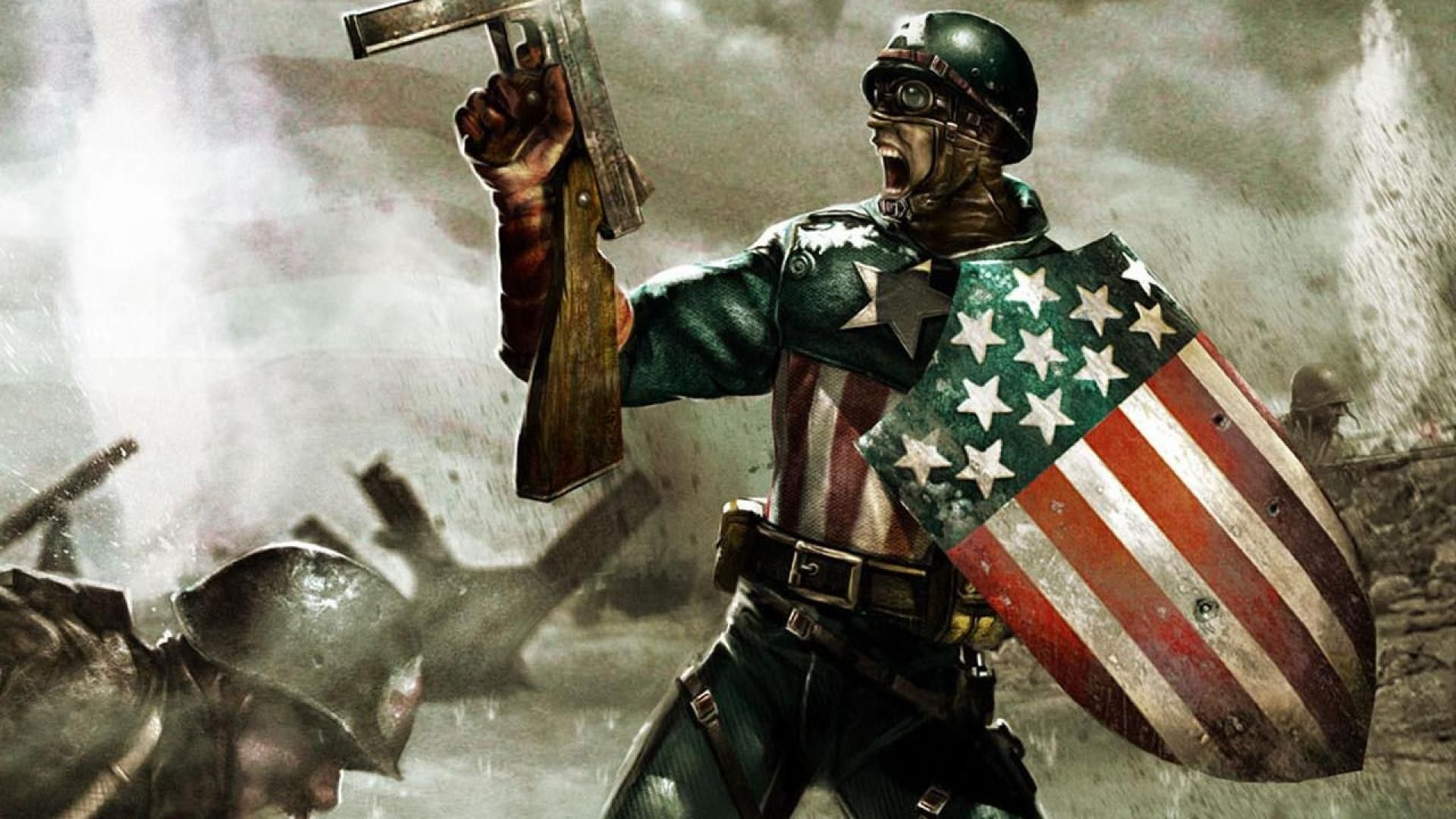 Ww2 Captain America Wallpapers Top Free Ww2 Captain
