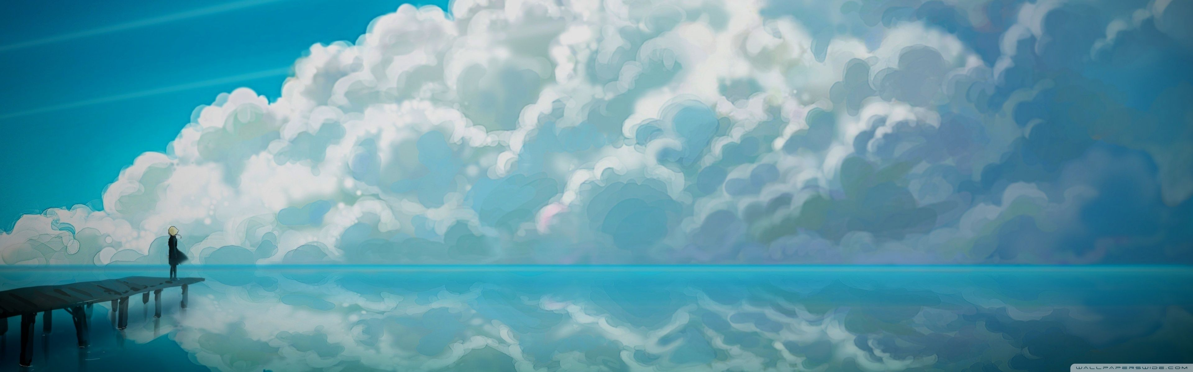 23 Dual Monitor Wallpaper 1440p Anime Baka Wallpaper