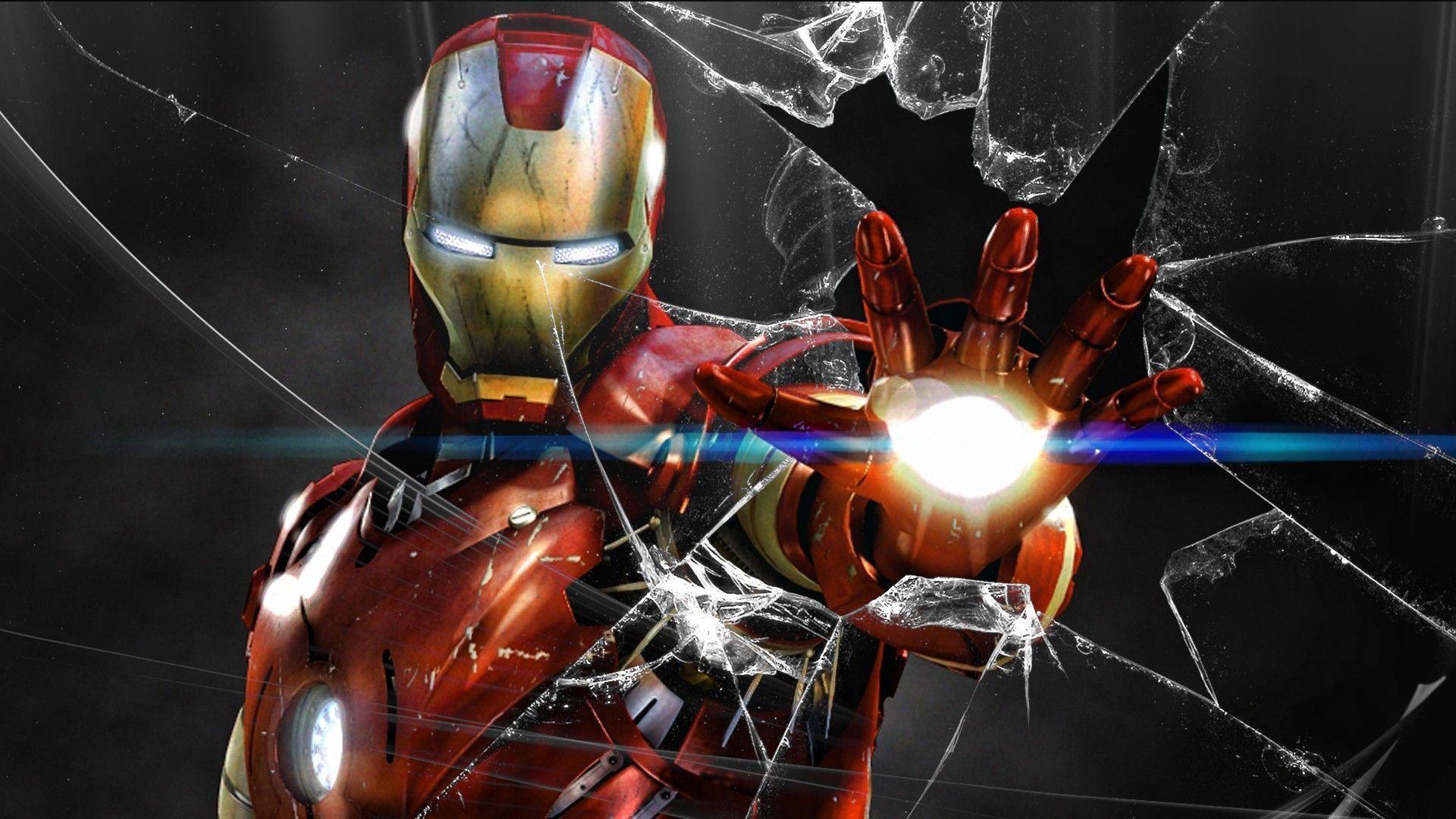 Superhero Broken Screen Wallpapers Top Free Superhero Broken