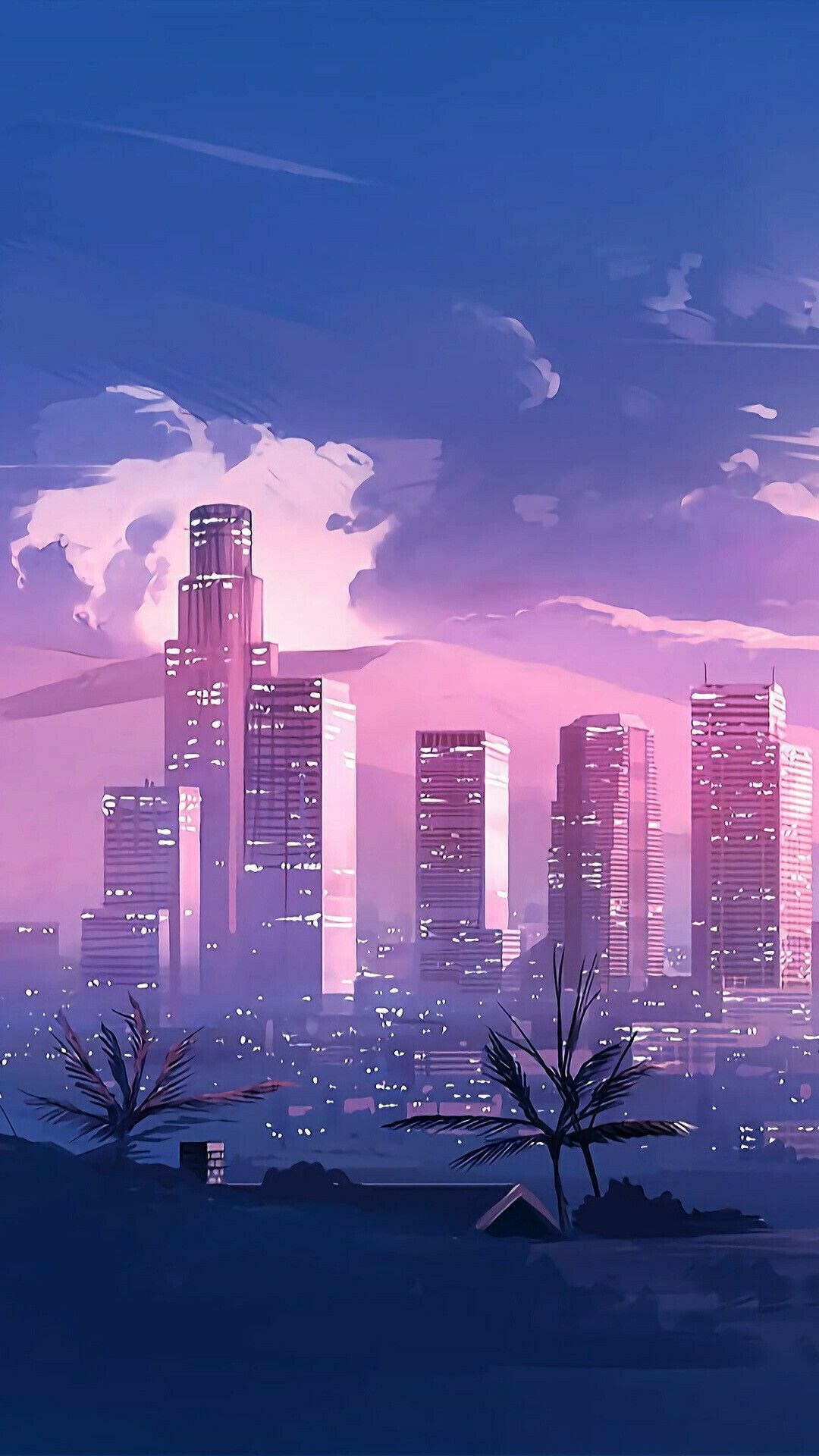 Aesthetic Anime City Wallpapers - Top Free Aesthetic Anime ...