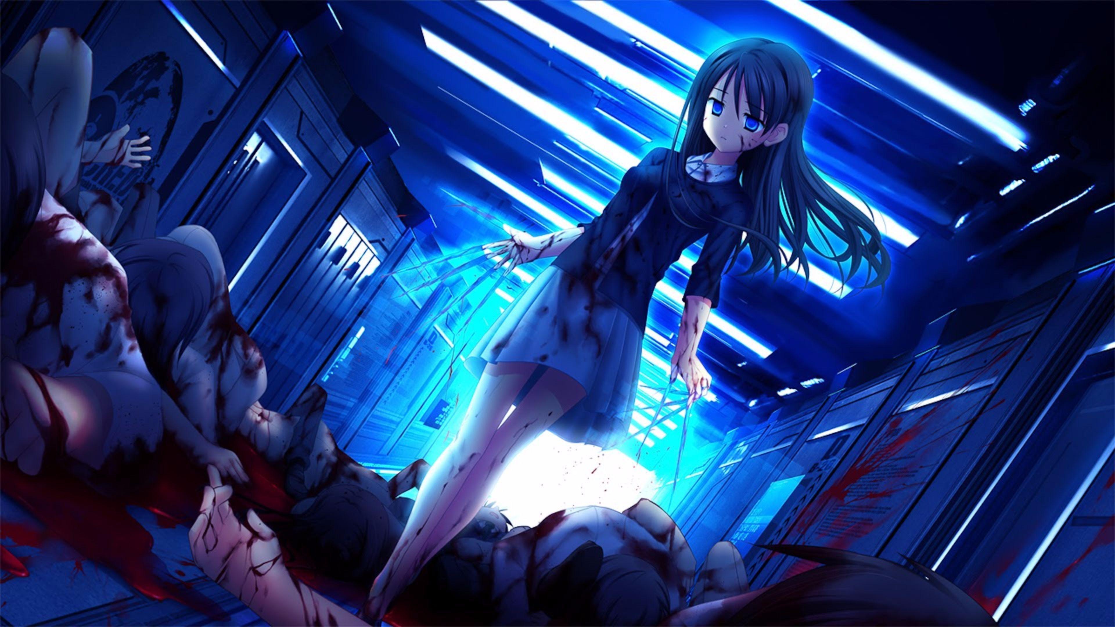 Anime 4k Wallpaper: Horror Anime 4K Wallpapers